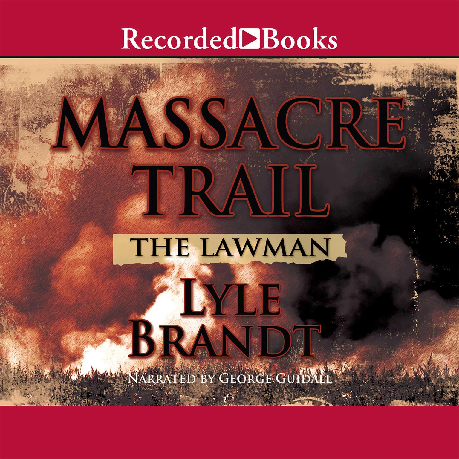 Printable Massacre Trail Audiobook Cover Art