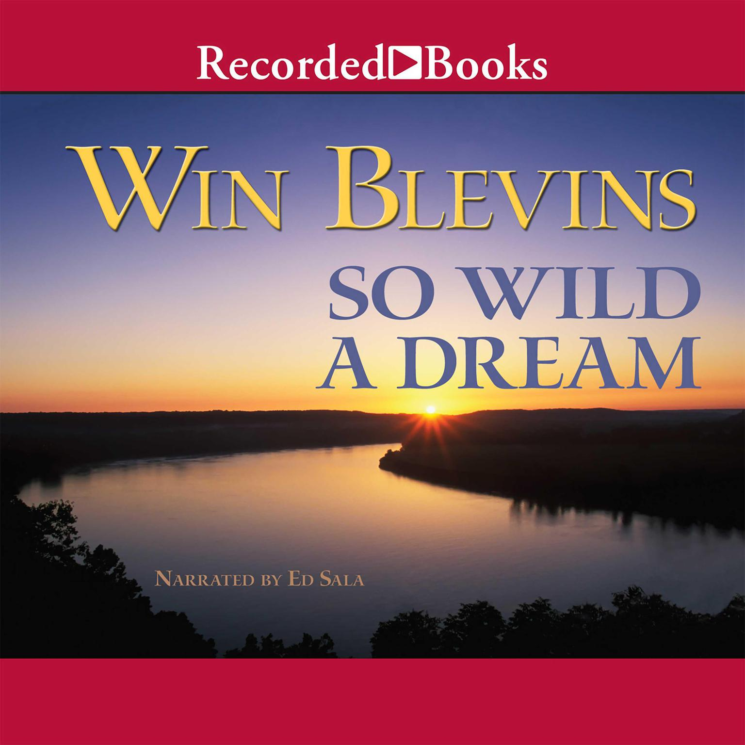 Printable So Wild a Dream Audiobook Cover Art
