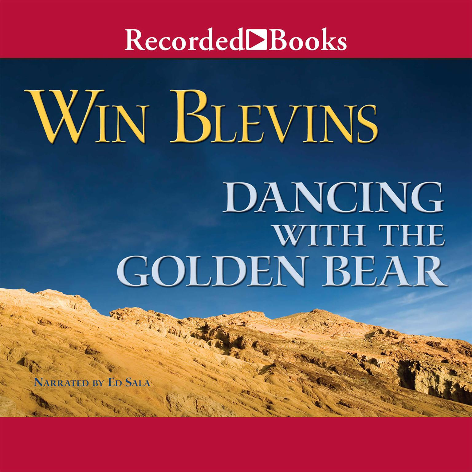 Printable Dancing with the Golden Bear Audiobook Cover Art