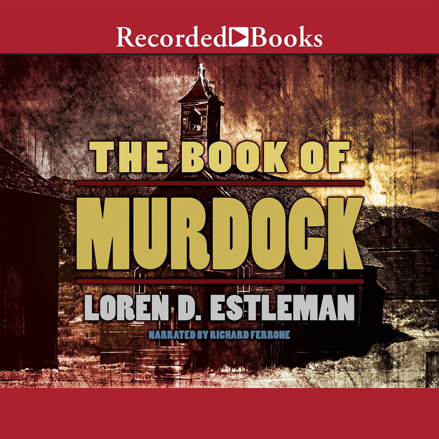 Printable The Book of Murdock Audiobook Cover Art