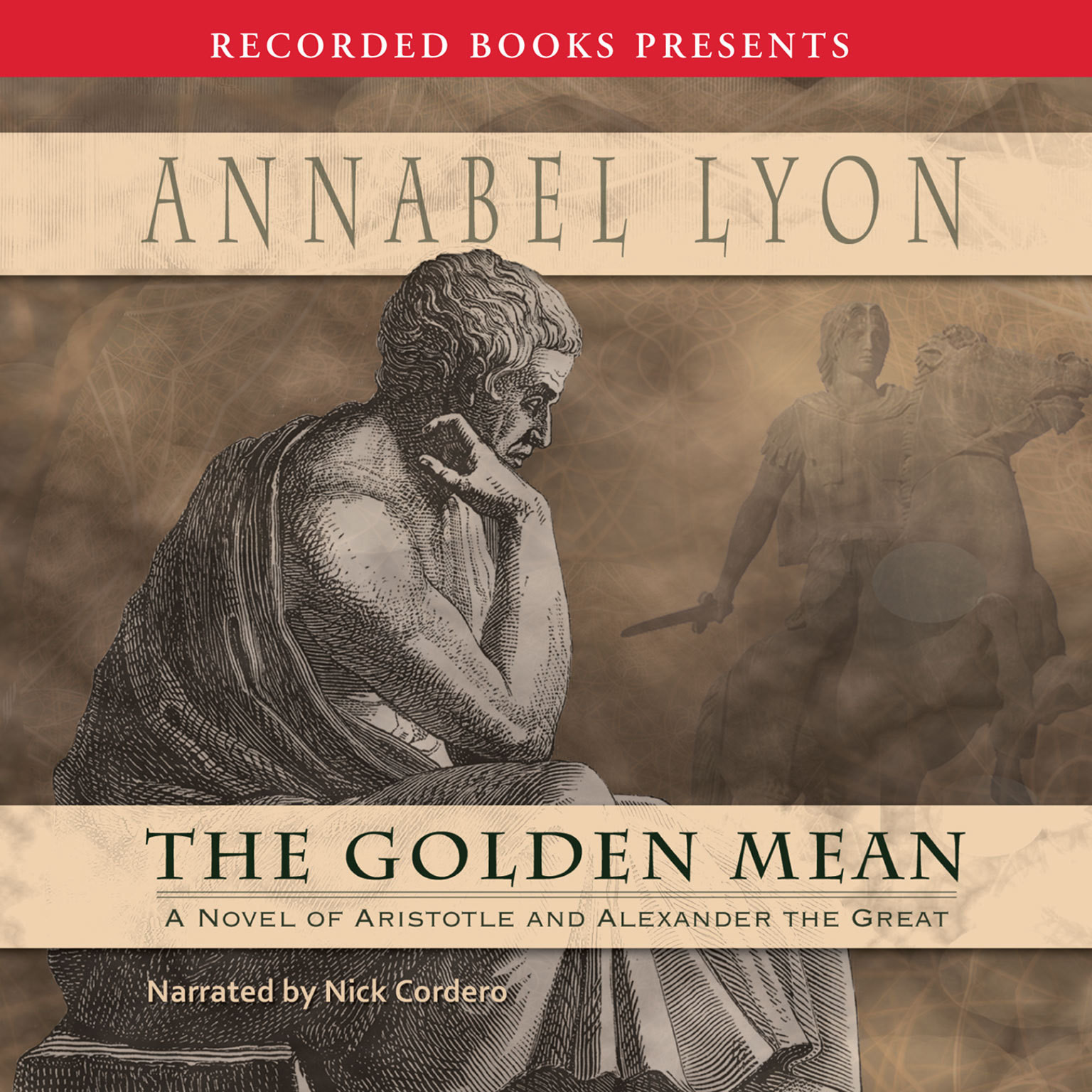 Printable The Golden Mean Audiobook Cover Art