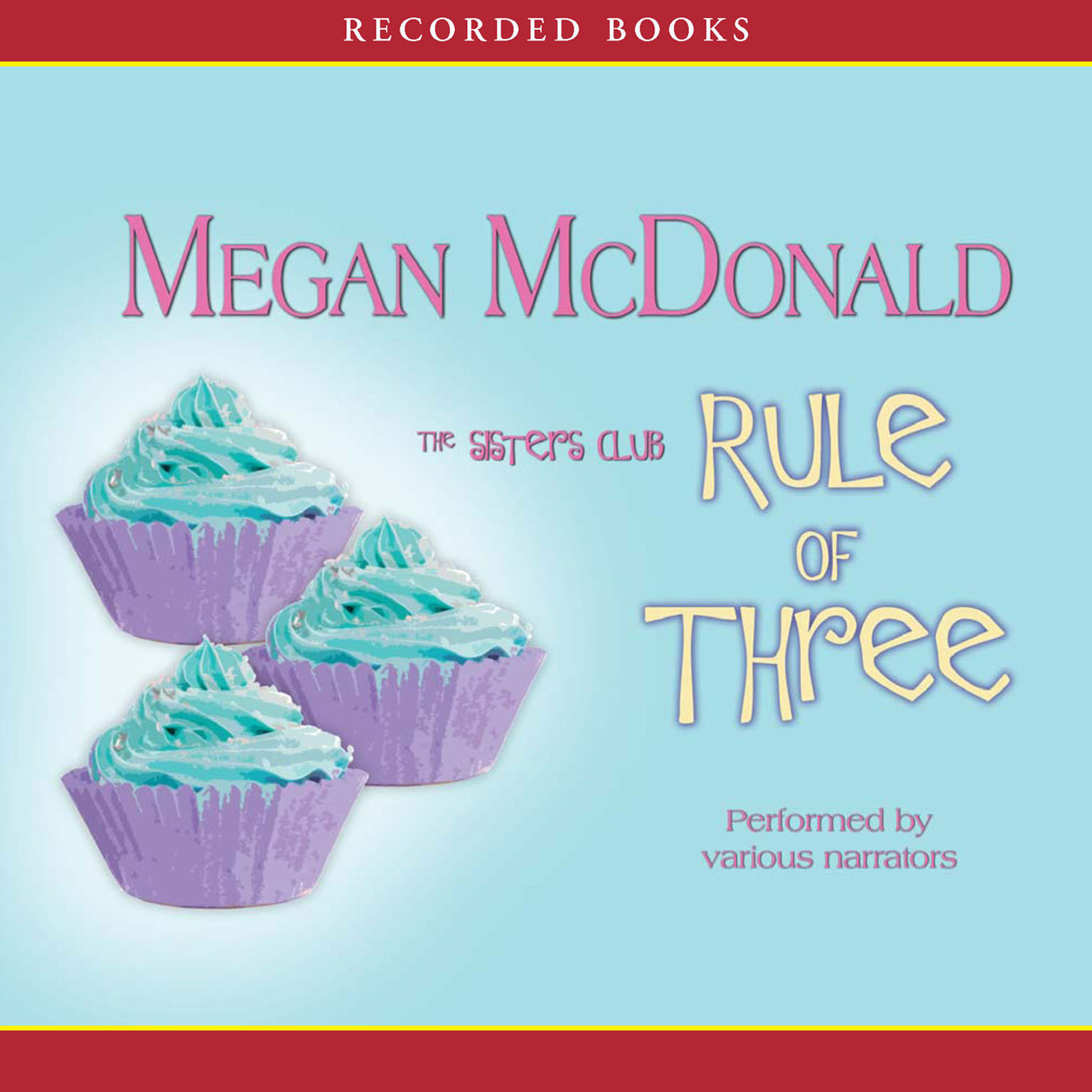 Printable Rule of Three Audiobook Cover Art