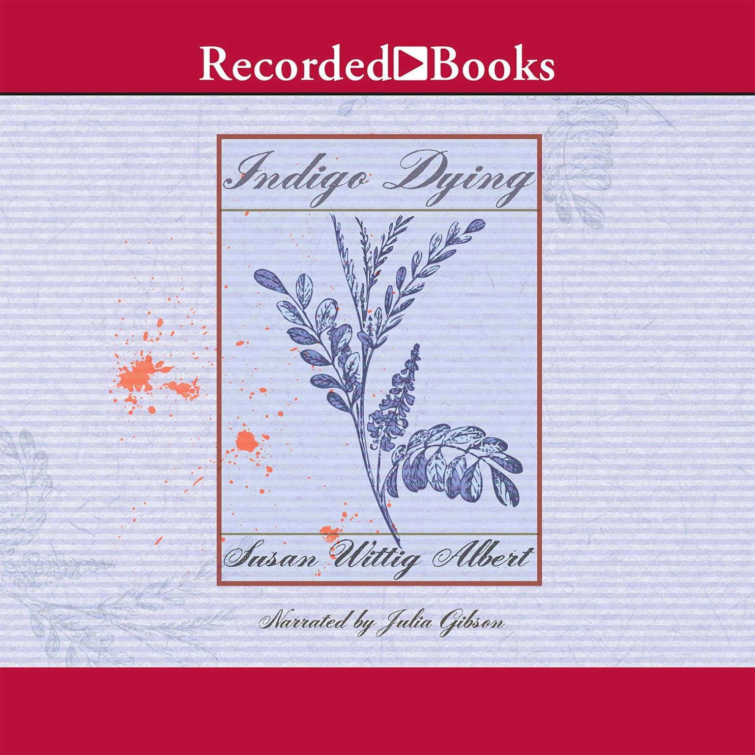Printable Indigo Dying Audiobook Cover Art