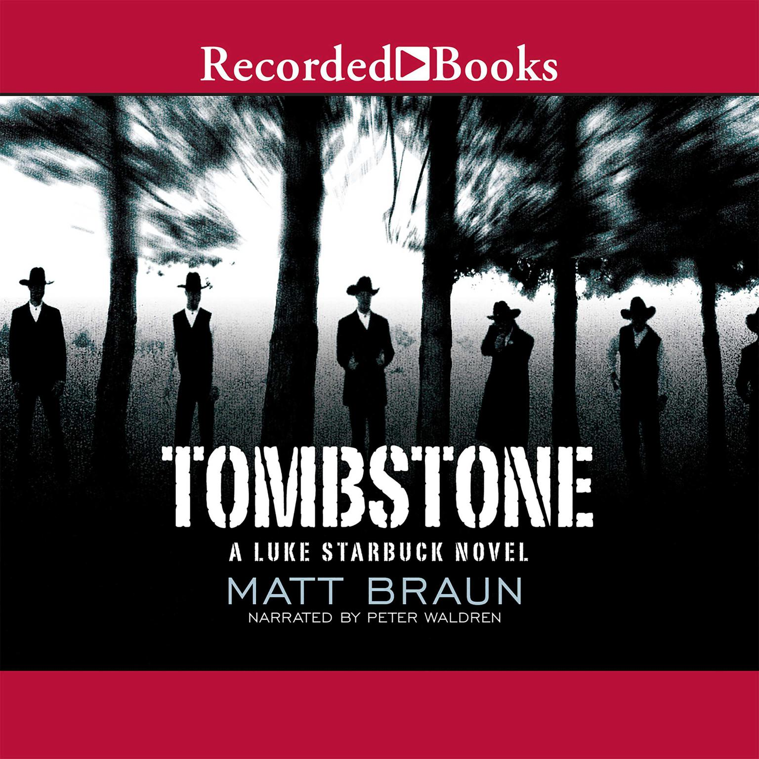 Printable Tombstone Audiobook Cover Art