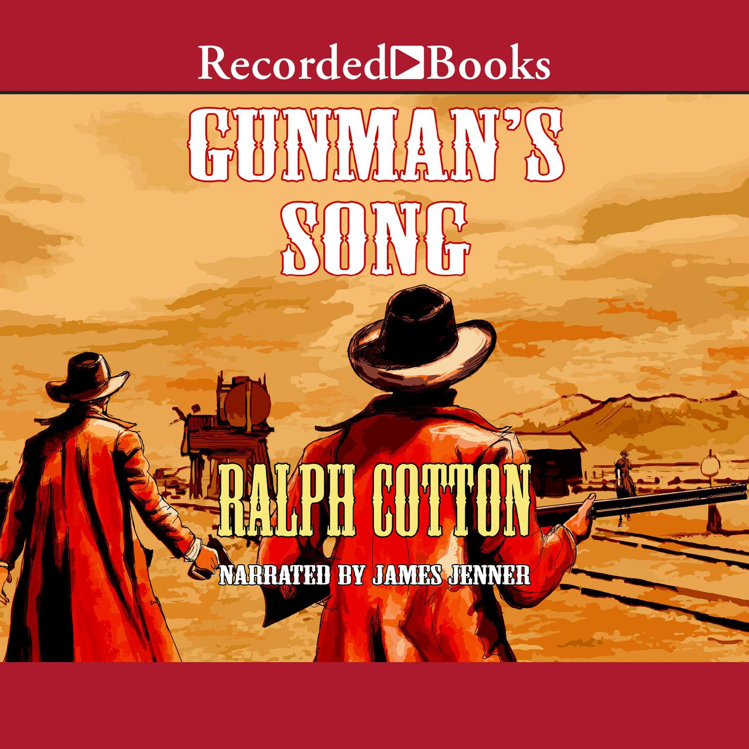 Printable Gunman's Song Audiobook Cover Art