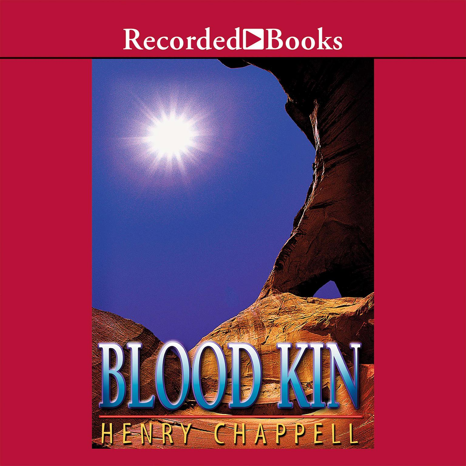 Printable Blood Kin Audiobook Cover Art