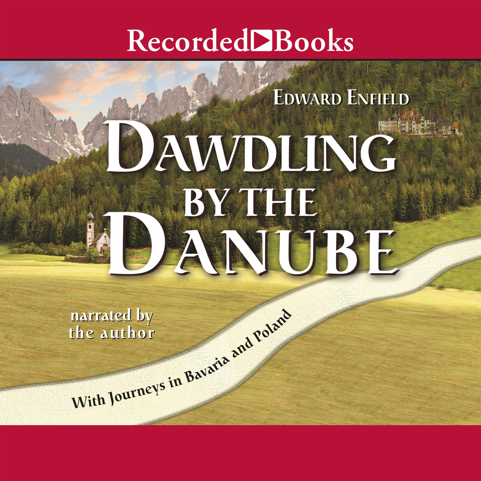 Printable Dawdling by the Danube Audiobook Cover Art