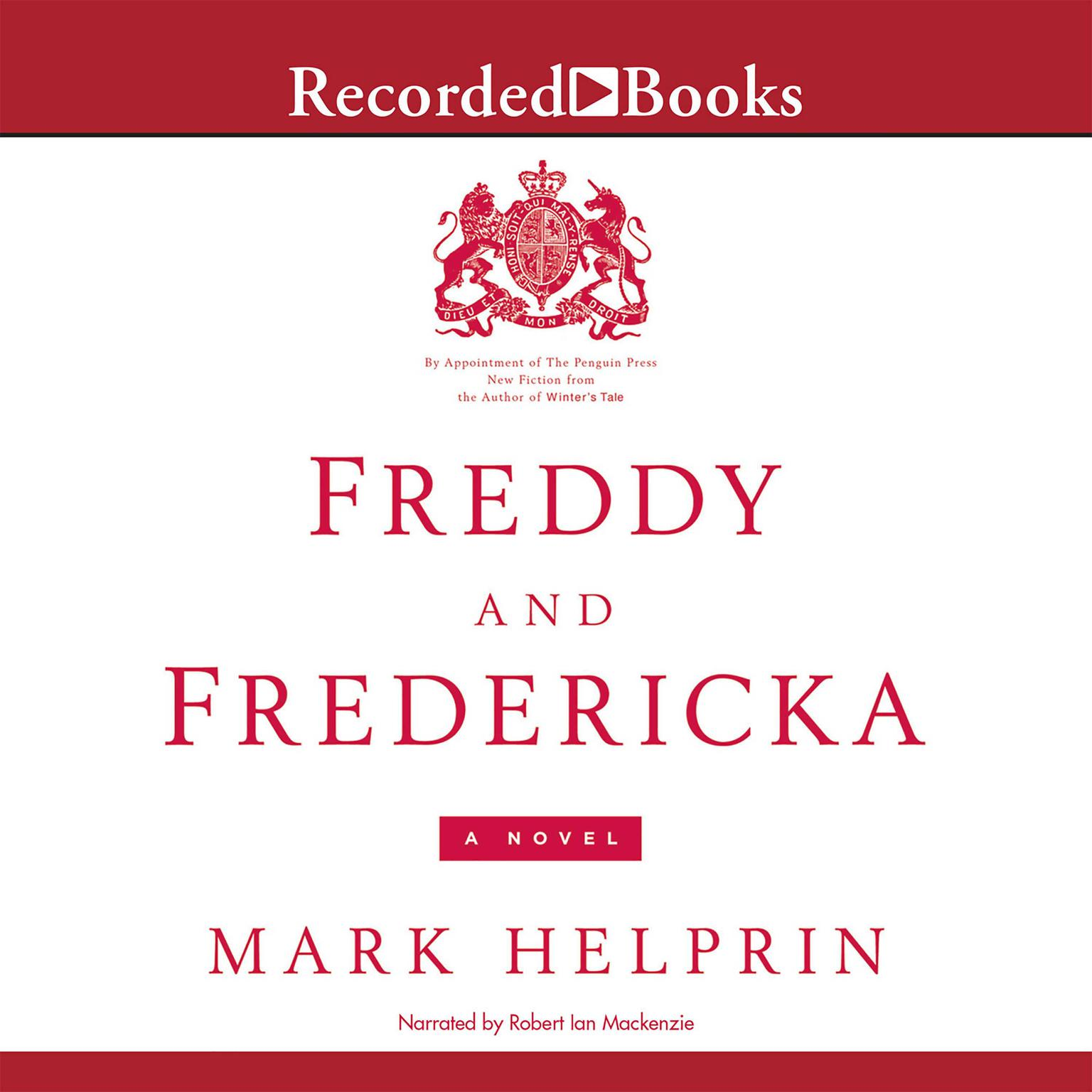 Printable Freddy and Fredericka Audiobook Cover Art