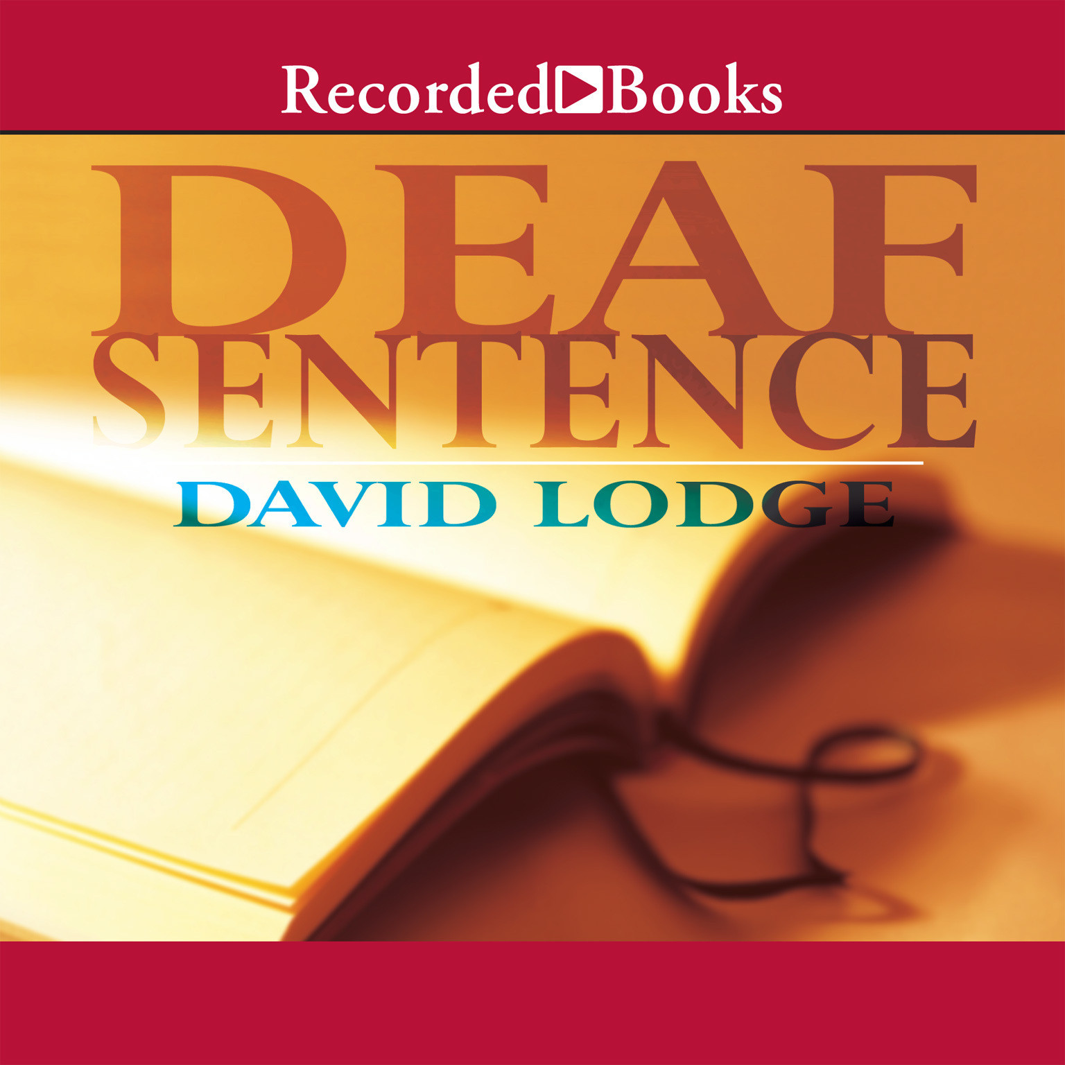 Printable Deaf Sentence Audiobook Cover Art