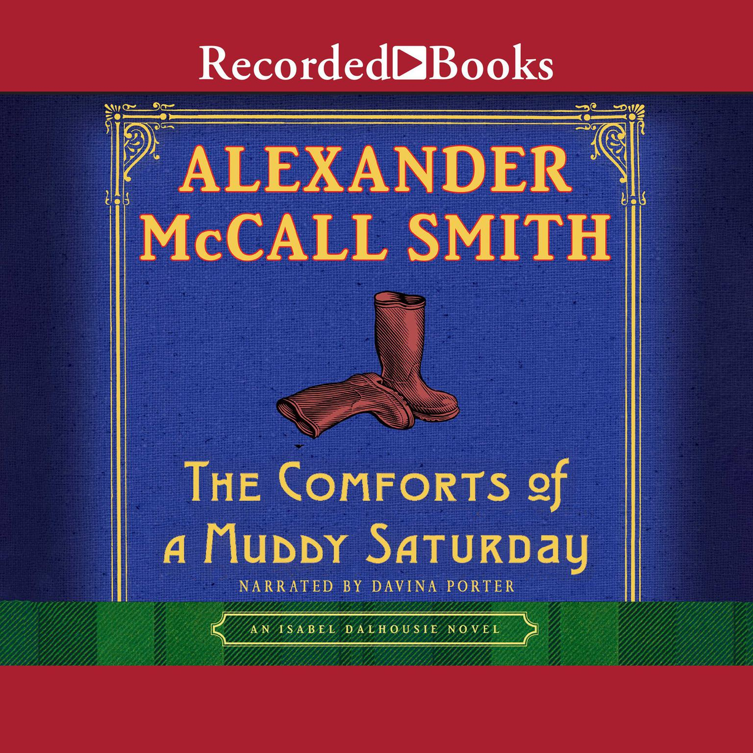 Printable The Comforts of a Muddy Saturday Audiobook Cover Art