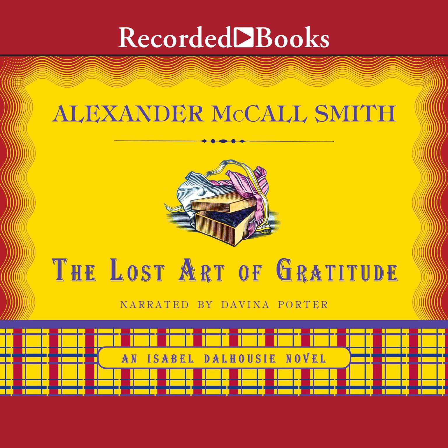 Printable The Lost Art of Gratitude Audiobook Cover Art