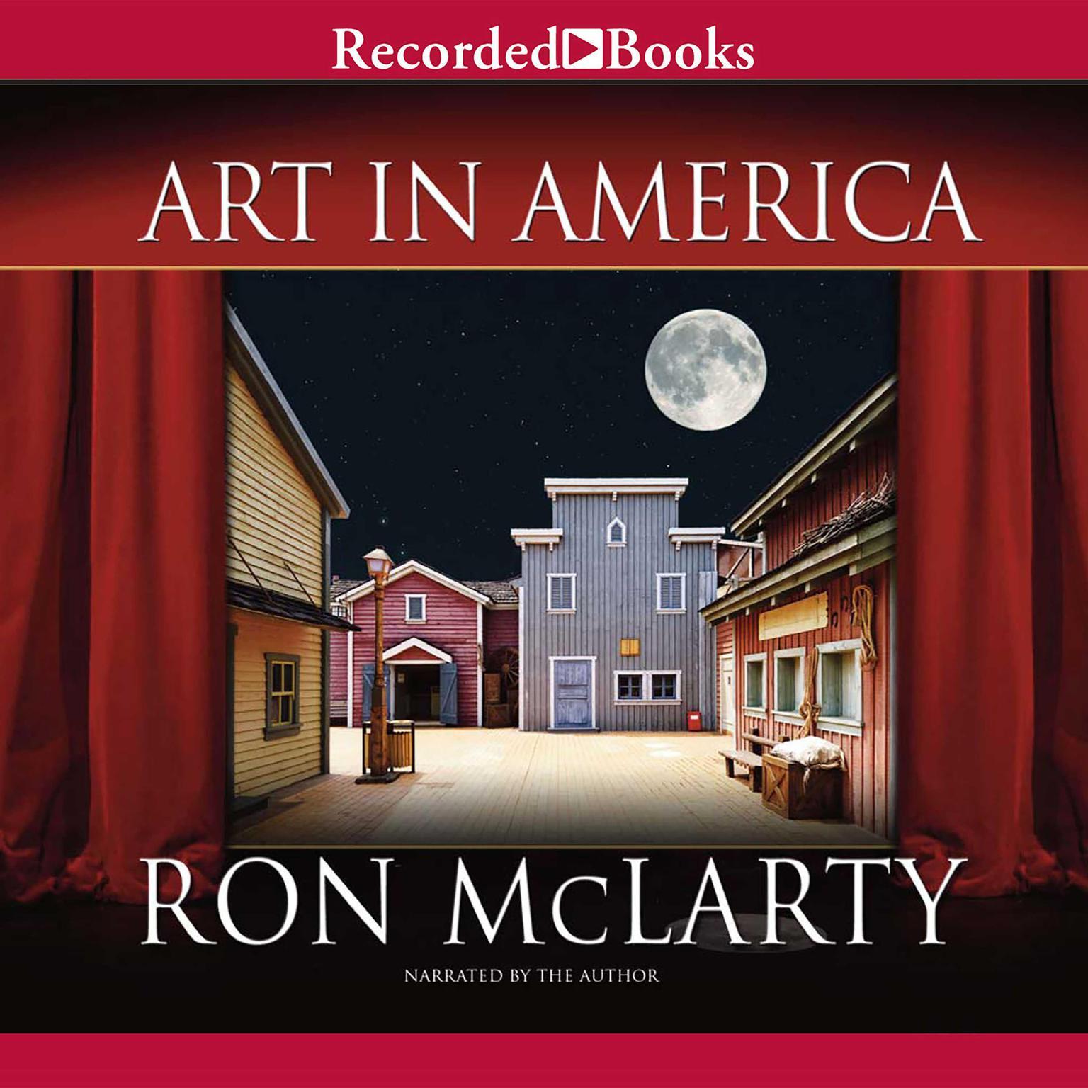 Printable Art in America Audiobook Cover Art