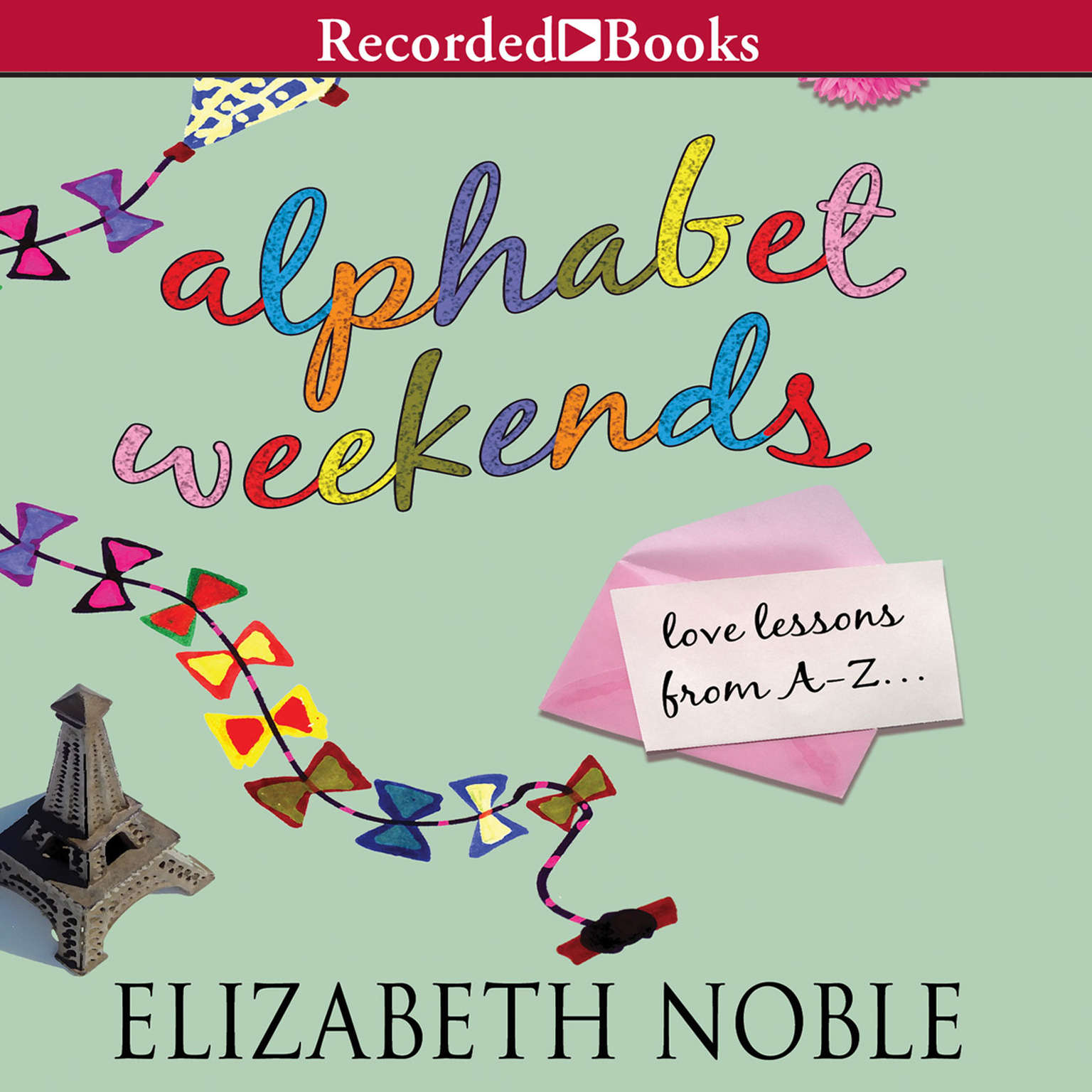 Printable Alphabet Weekends: Love on the Road from A to Z Audiobook Cover Art