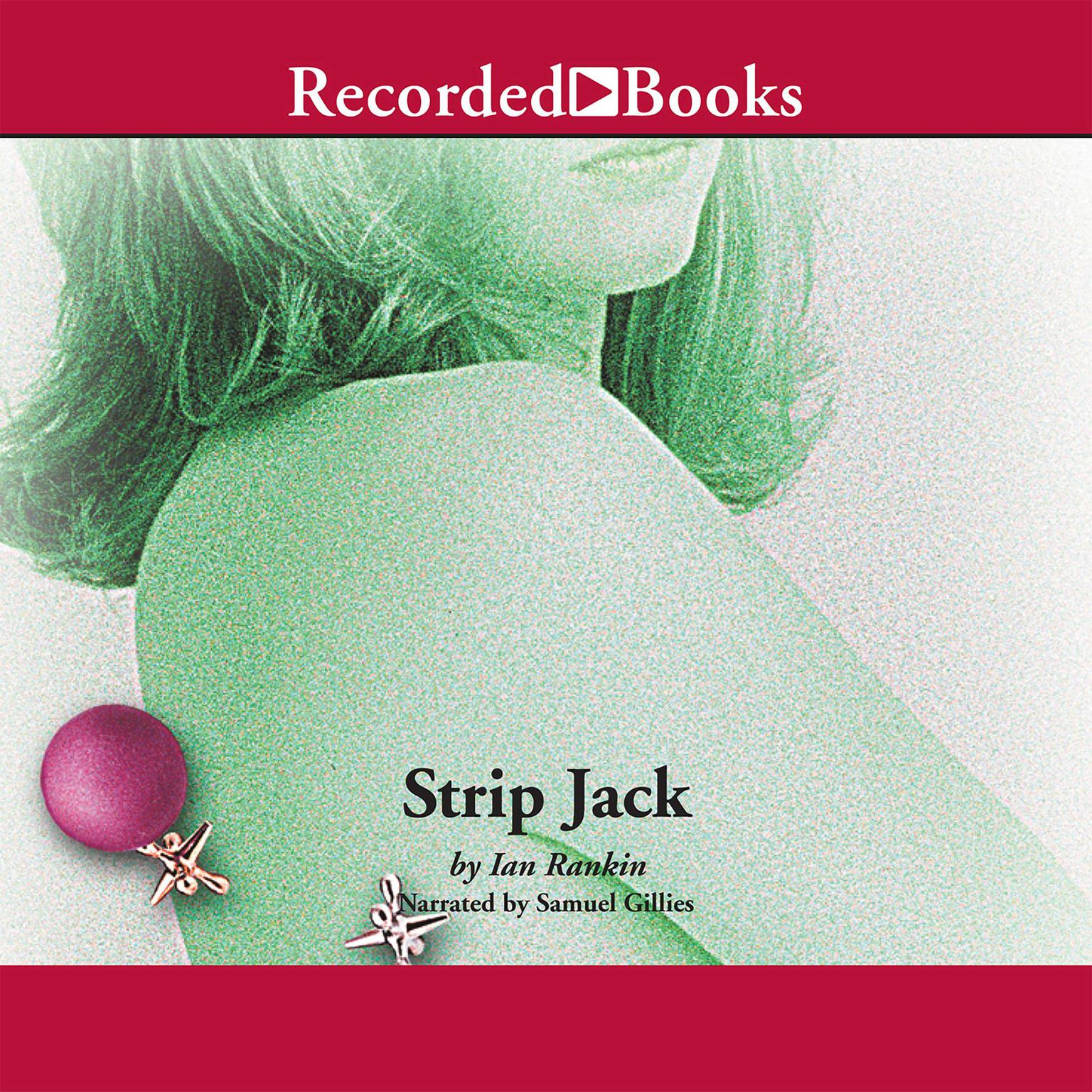 Printable Strip Jack Audiobook Cover Art