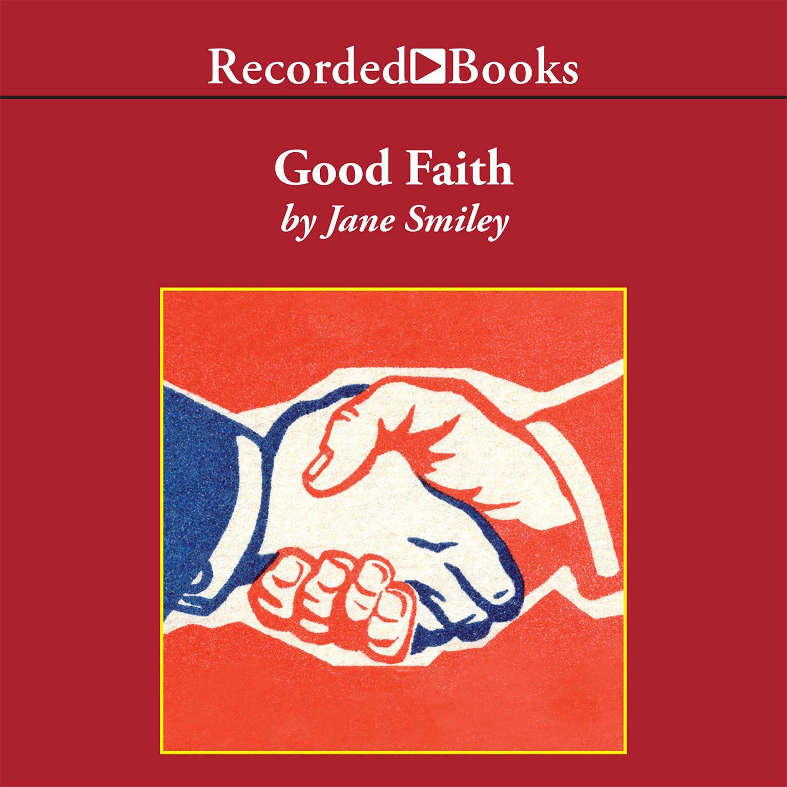 Printable Good Faith Audiobook Cover Art