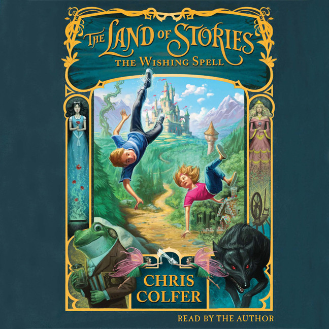 Printable The Land of Stories: The Wishing Spell Audiobook Cover Art