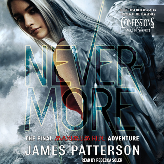 Printable Nevermore: A Maximum Ride Novel Audiobook Cover Art