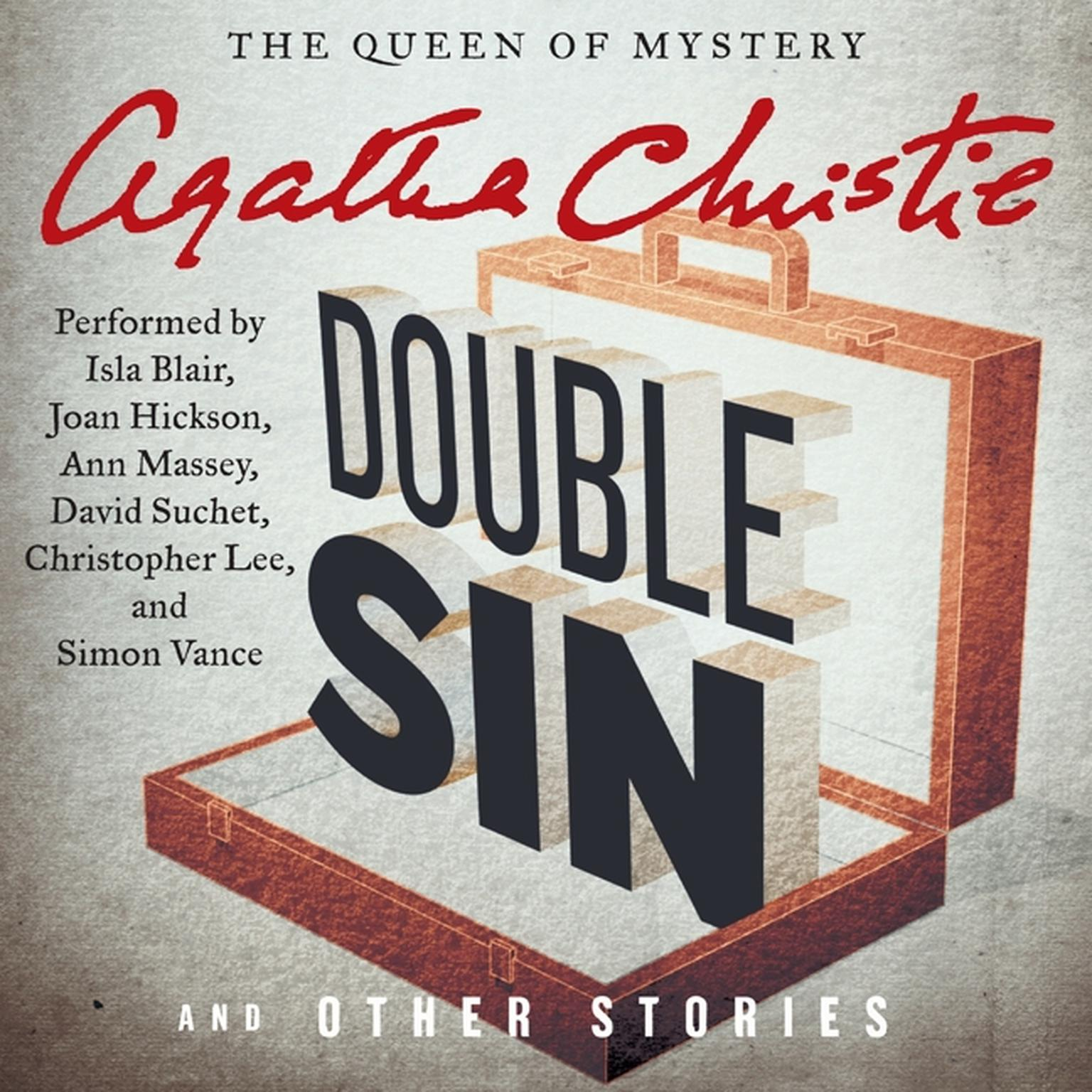 Printable Double Sin and Other Stories Audiobook Cover Art