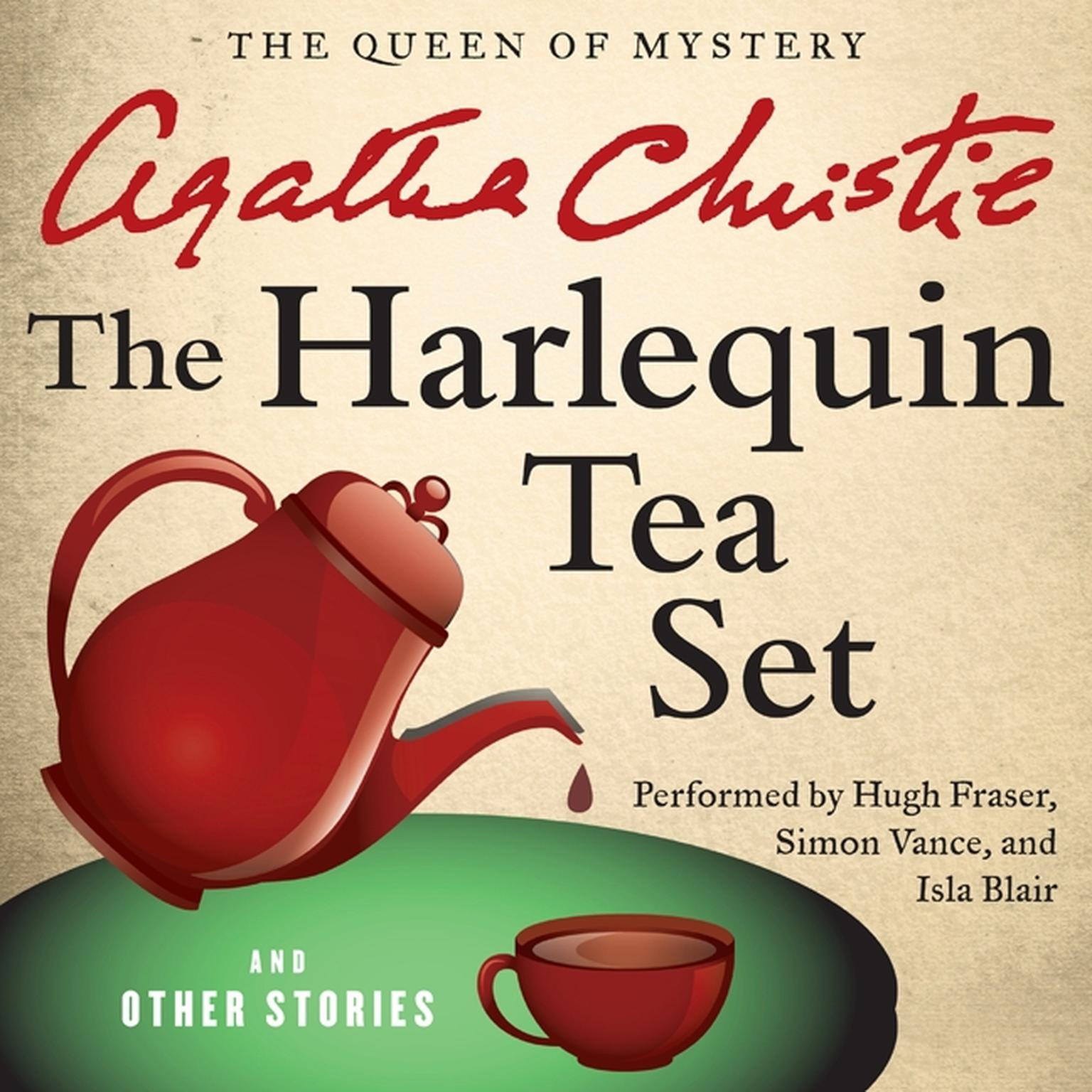 Printable The Harlequin Tea Set, and Other Stories Audiobook Cover Art