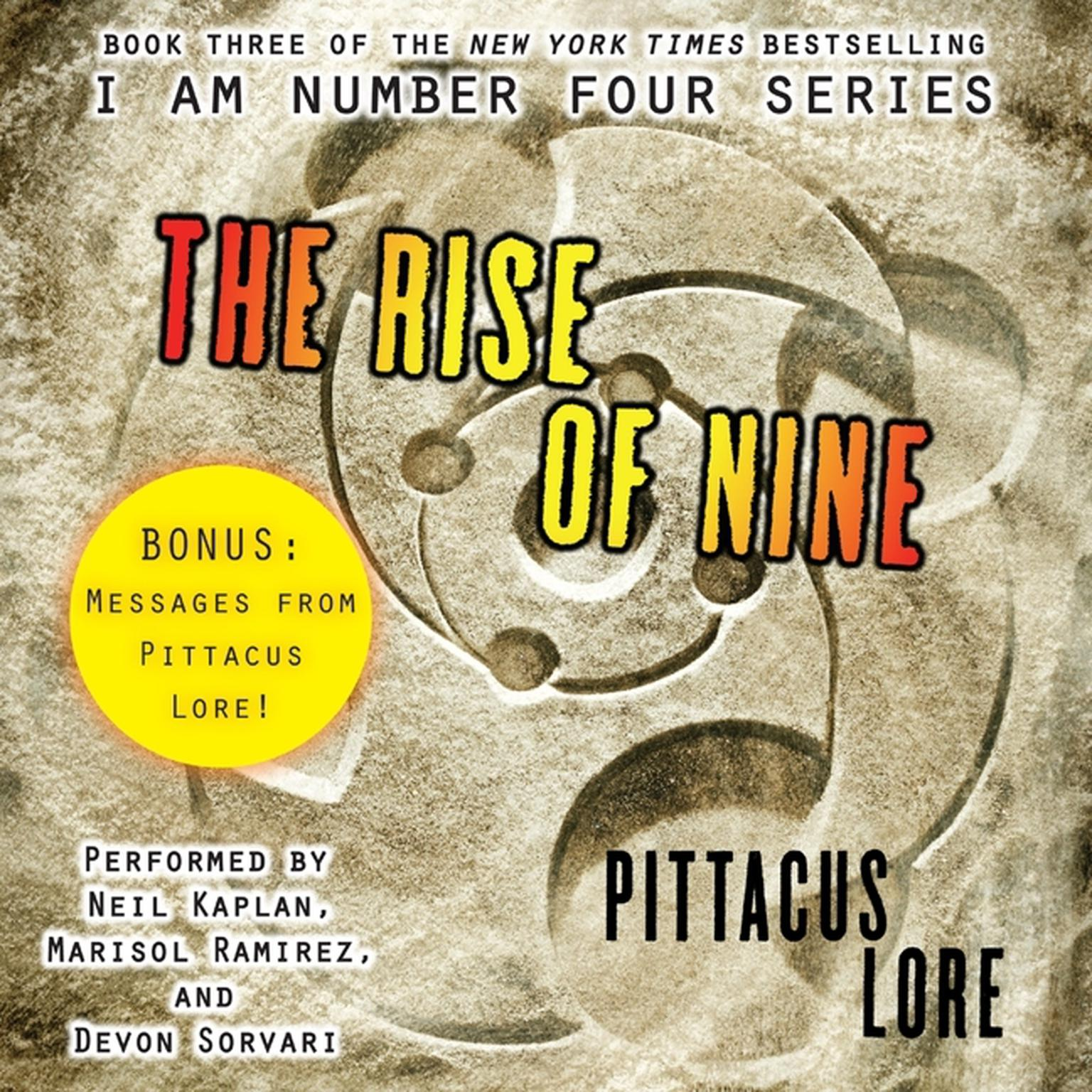 Printable The Rise of Nine Audiobook Cover Art