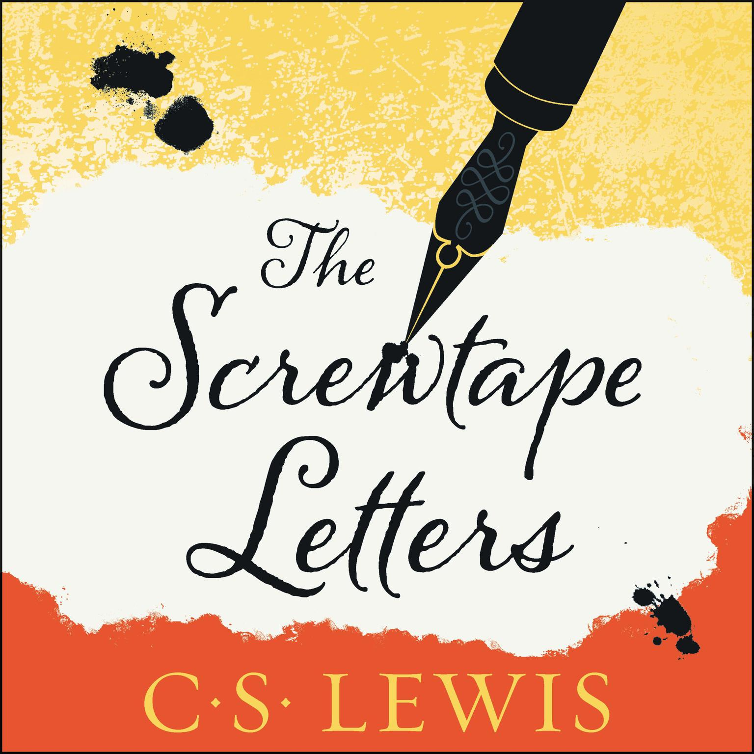 Printable The Screwtape Letters Audiobook Cover Art