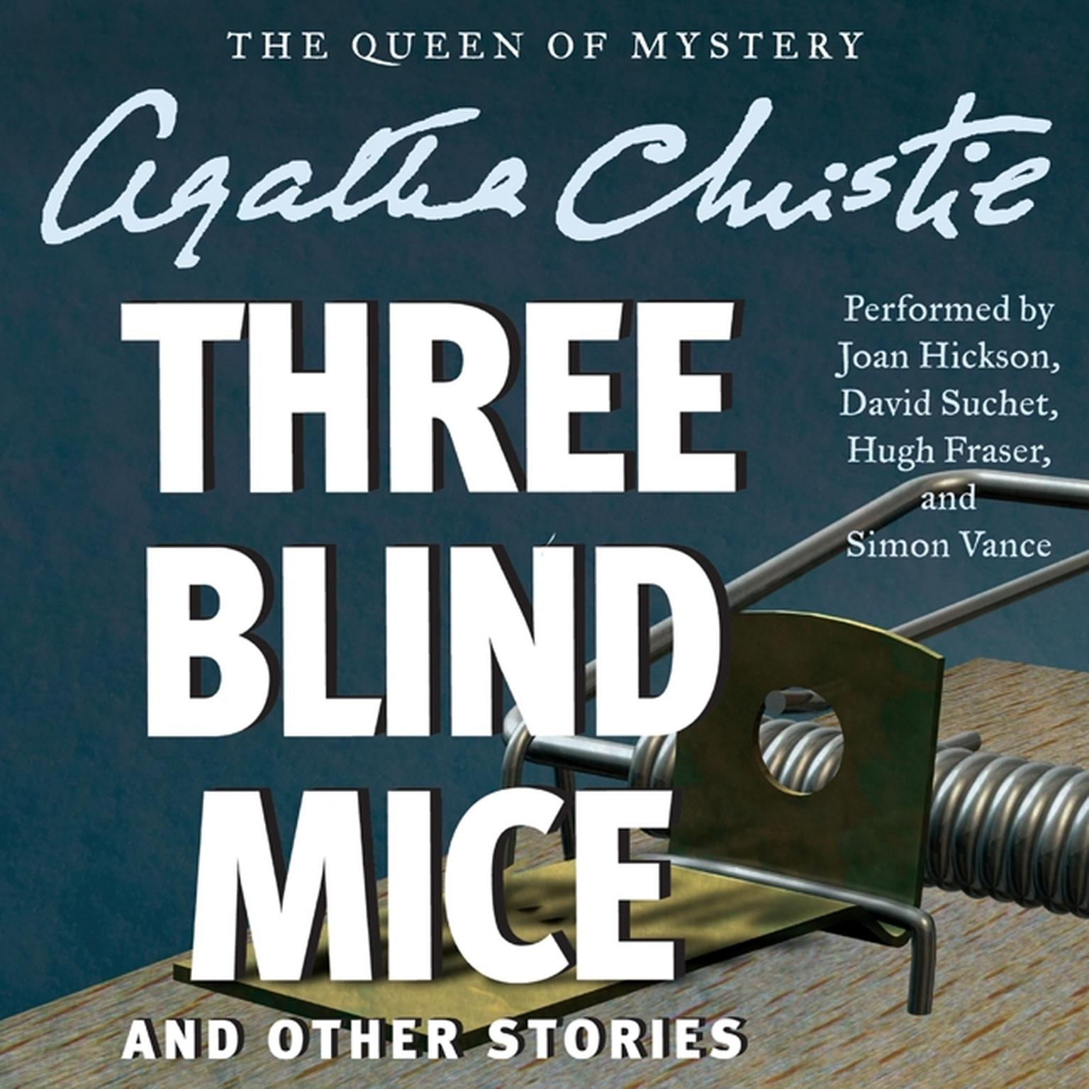 Printable Three Blind Mice and Other Stories Audiobook Cover Art