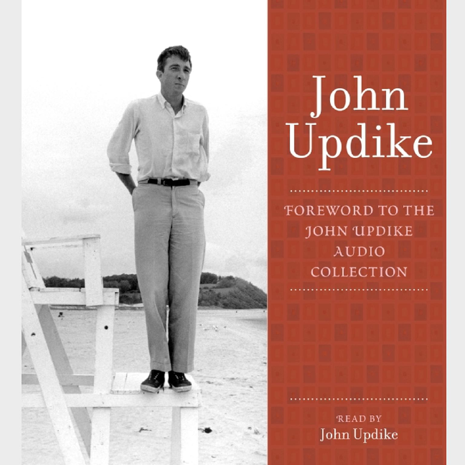 Printable Foreword: A Selection from the John Updike Audio Collection Audiobook Cover Art