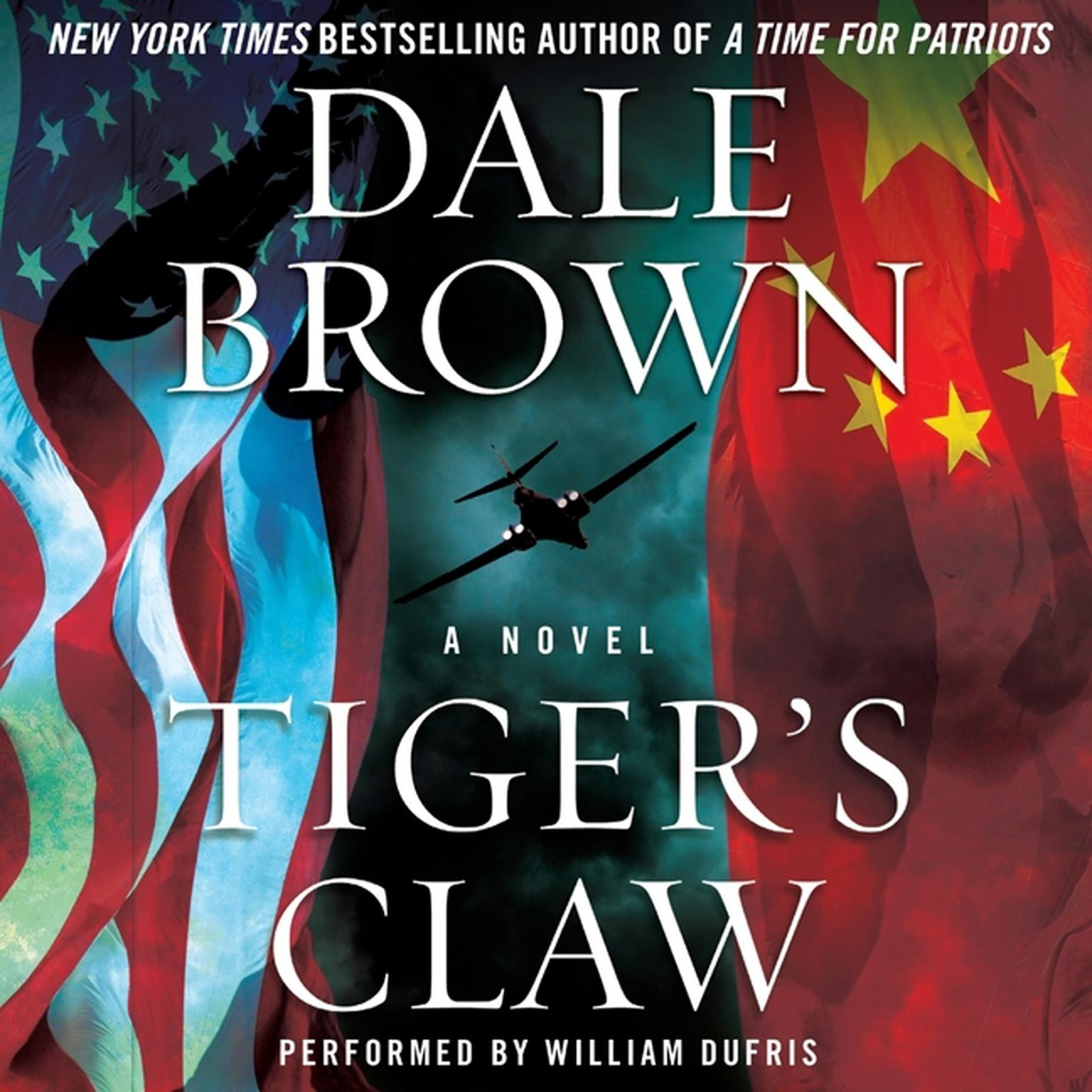 Printable Tiger's Claw Audiobook Cover Art