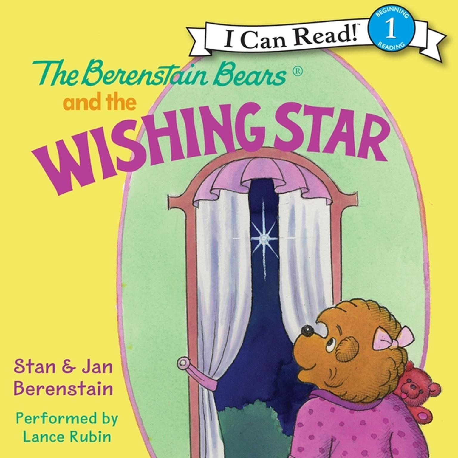 Printable The Berenstain Bears and the Wishing Star Audiobook Cover Art