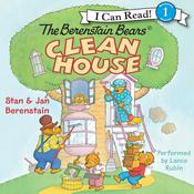 The Berenstain Bears Clean House Audiobook, by Jan Berenstain, Stan Berenstain