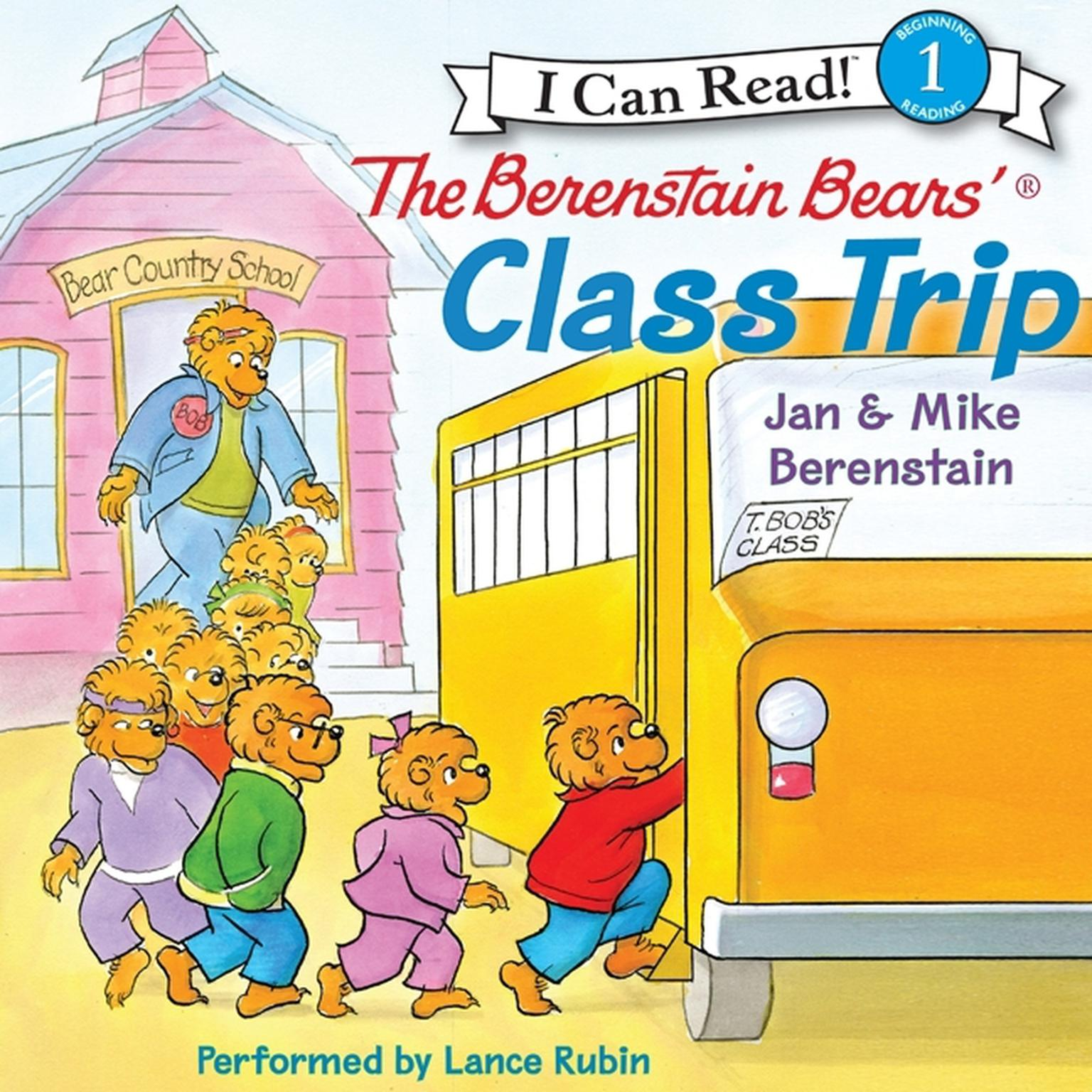 Printable The Berenstain Bears' Class Trip Audiobook Cover Art