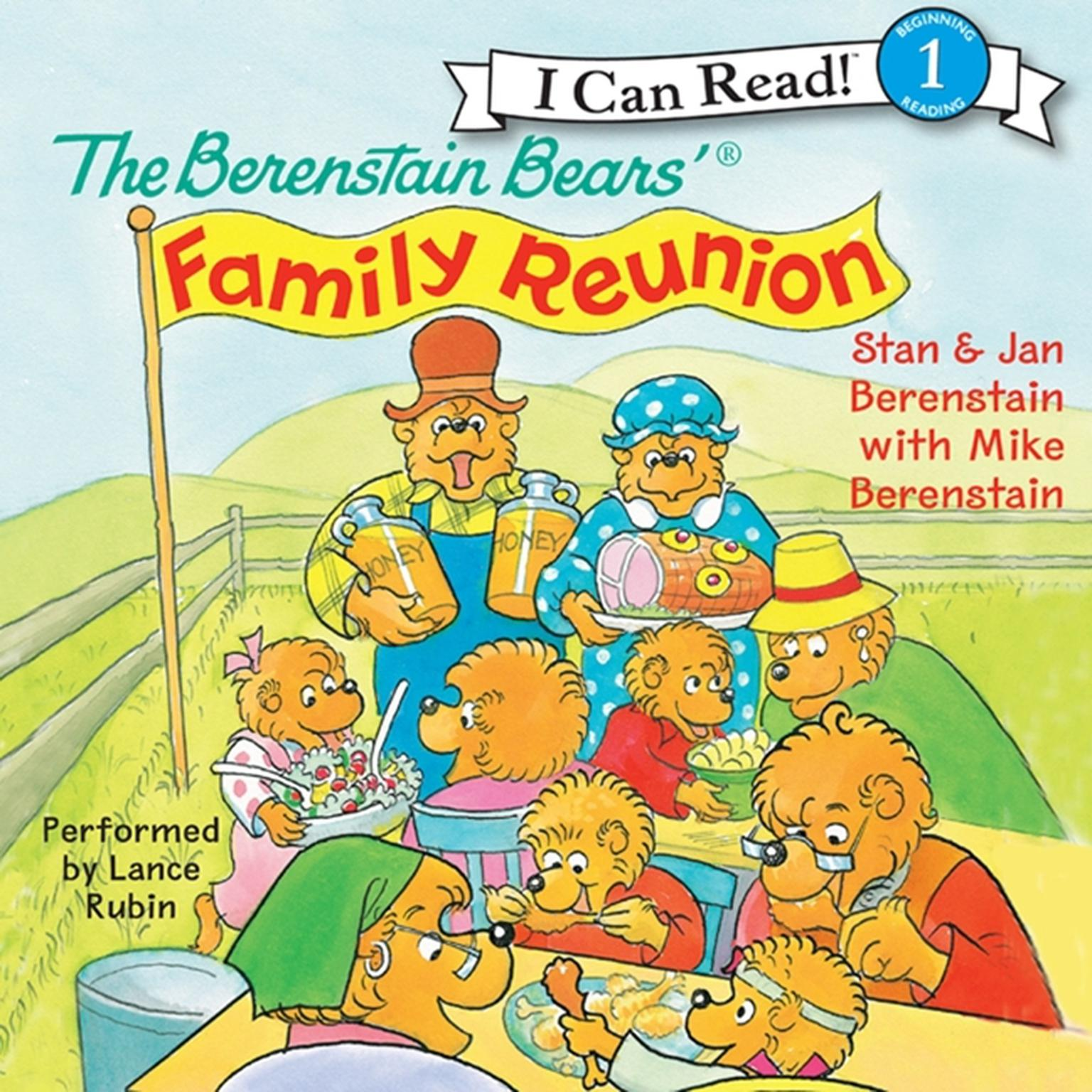 Printable The Berenstain Bears' Family Reunion Audiobook Cover Art