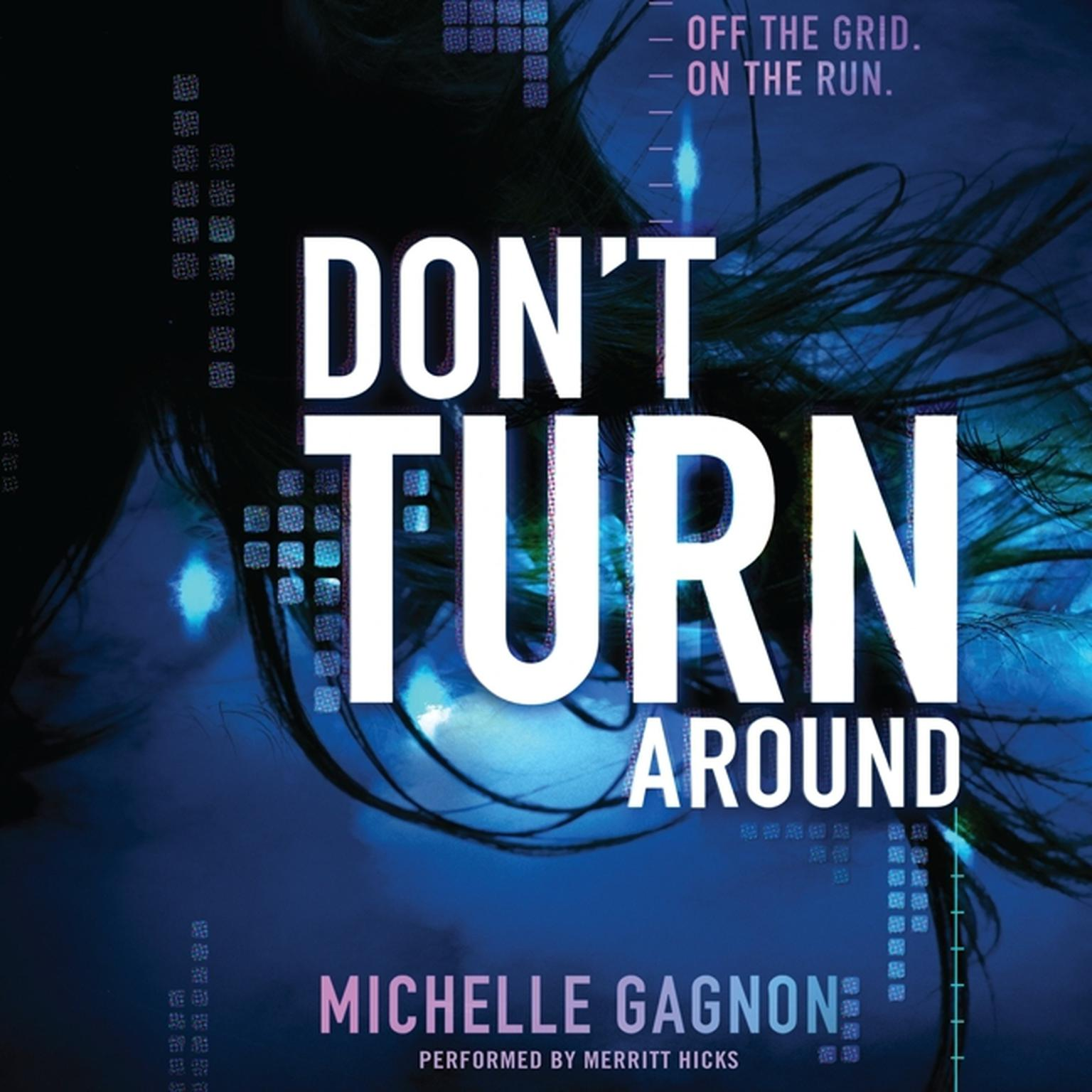 Printable Don't Turn Around Audiobook Cover Art