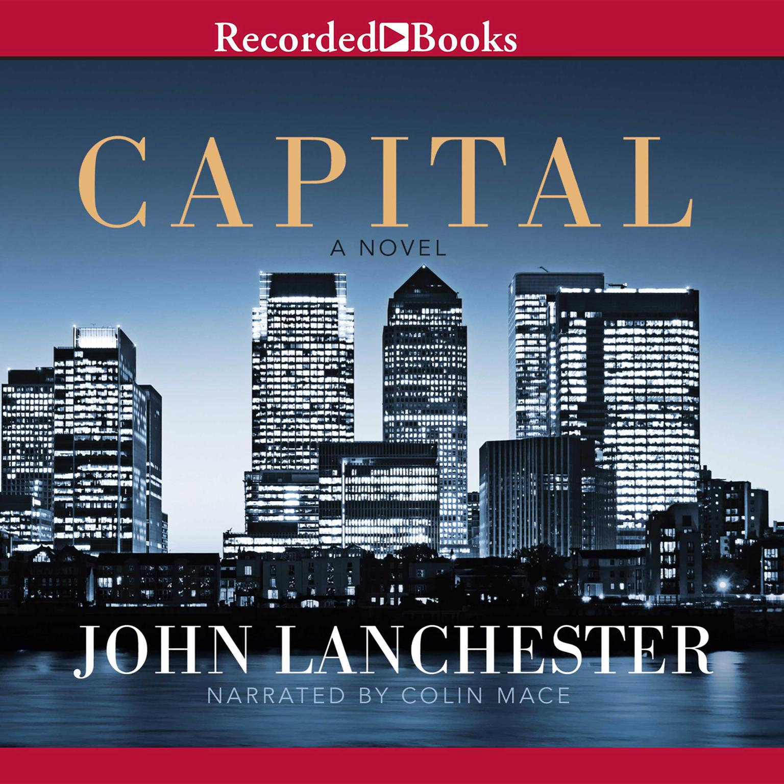 Printable Capital Audiobook Cover Art