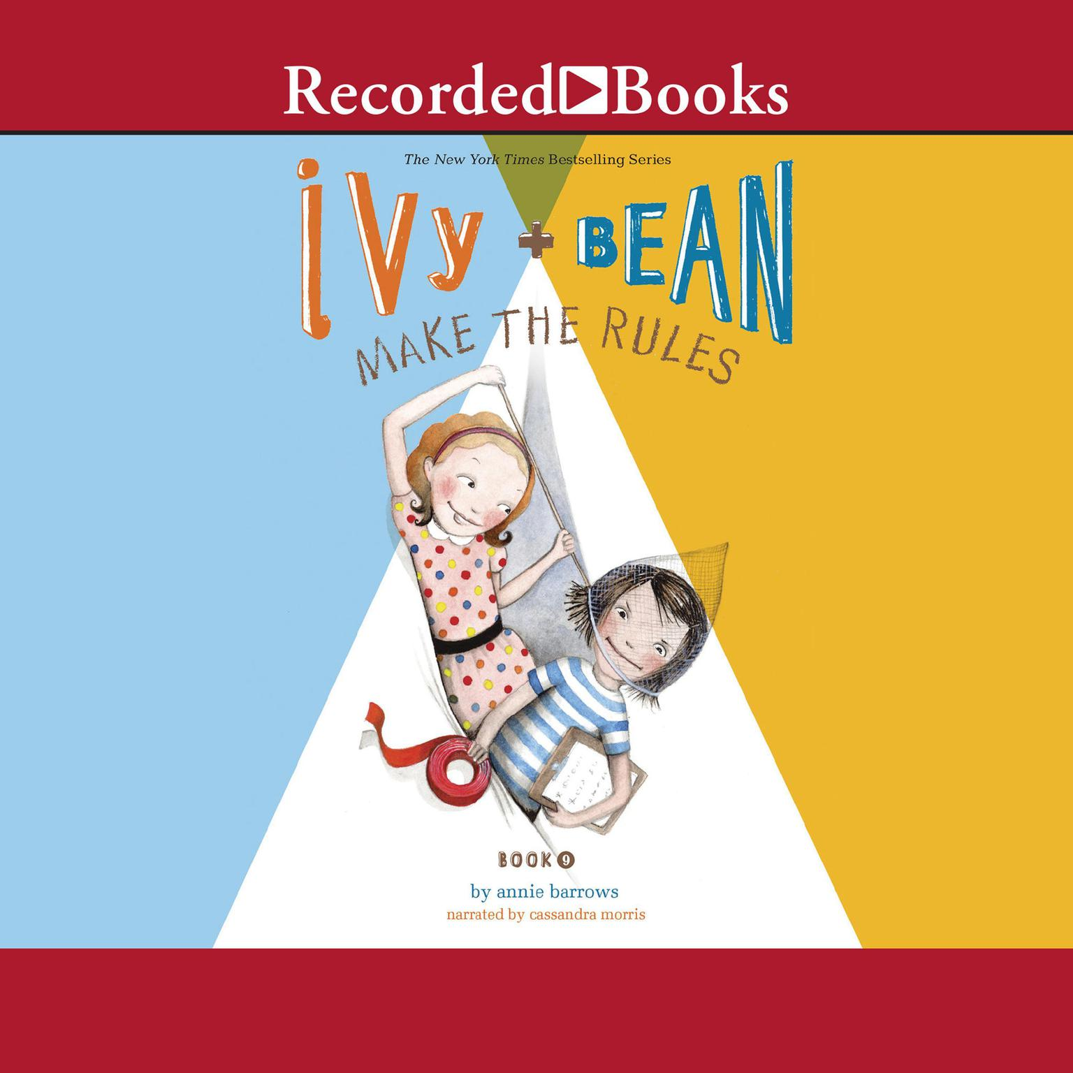 Printable Ivy and Bean Make the Rules Audiobook Cover Art