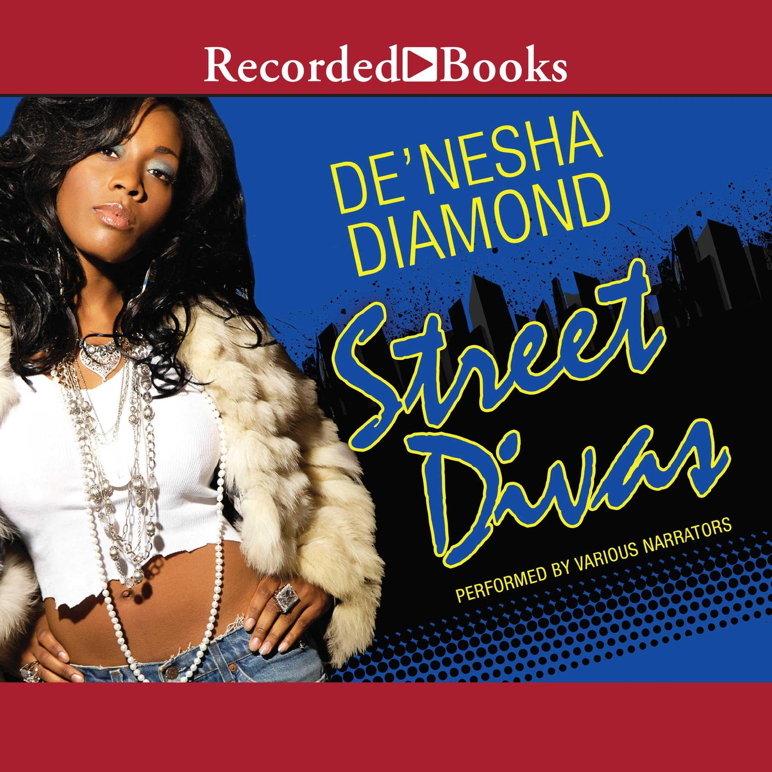 Printable Street Divas Audiobook Cover Art