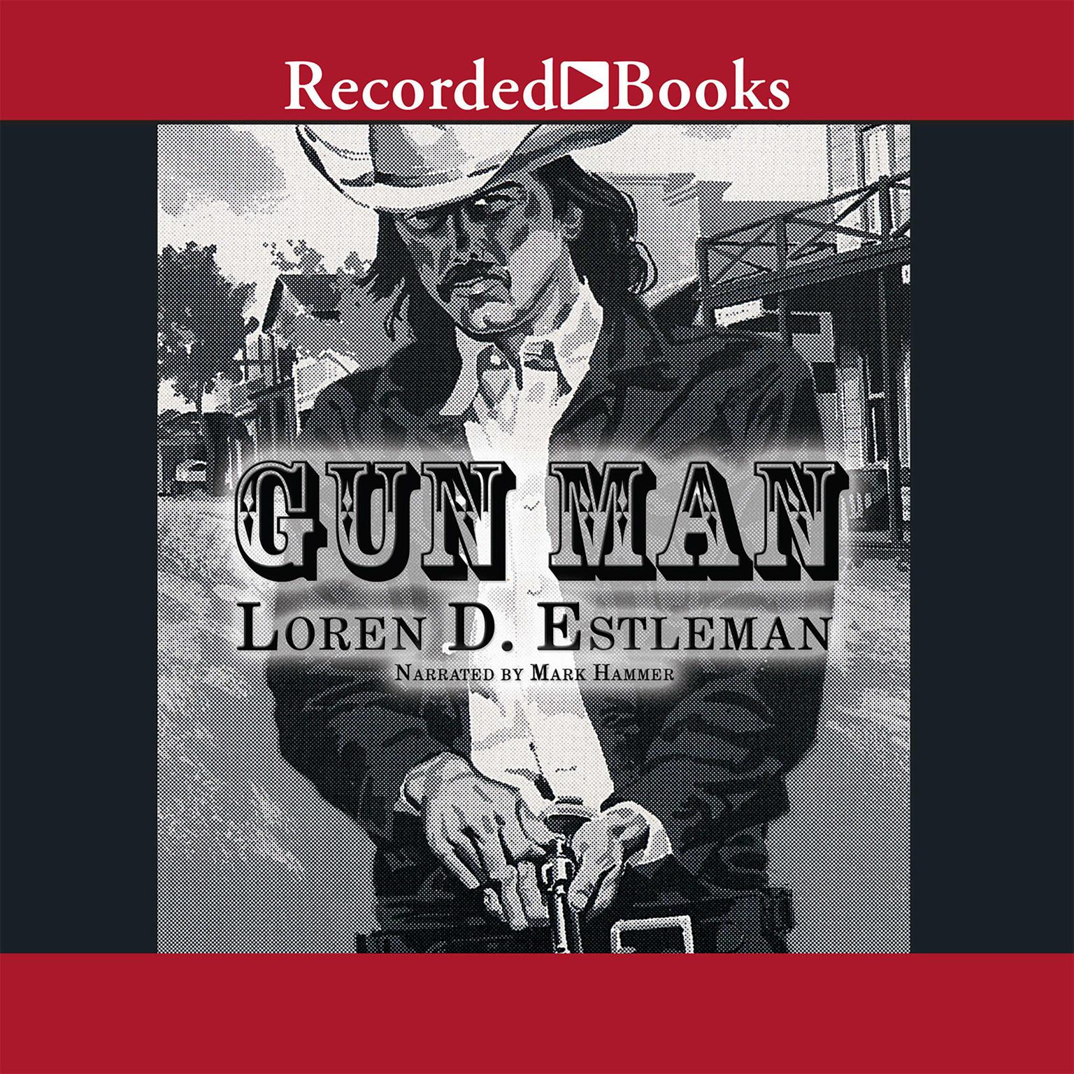 Printable Gun Man Audiobook Cover Art
