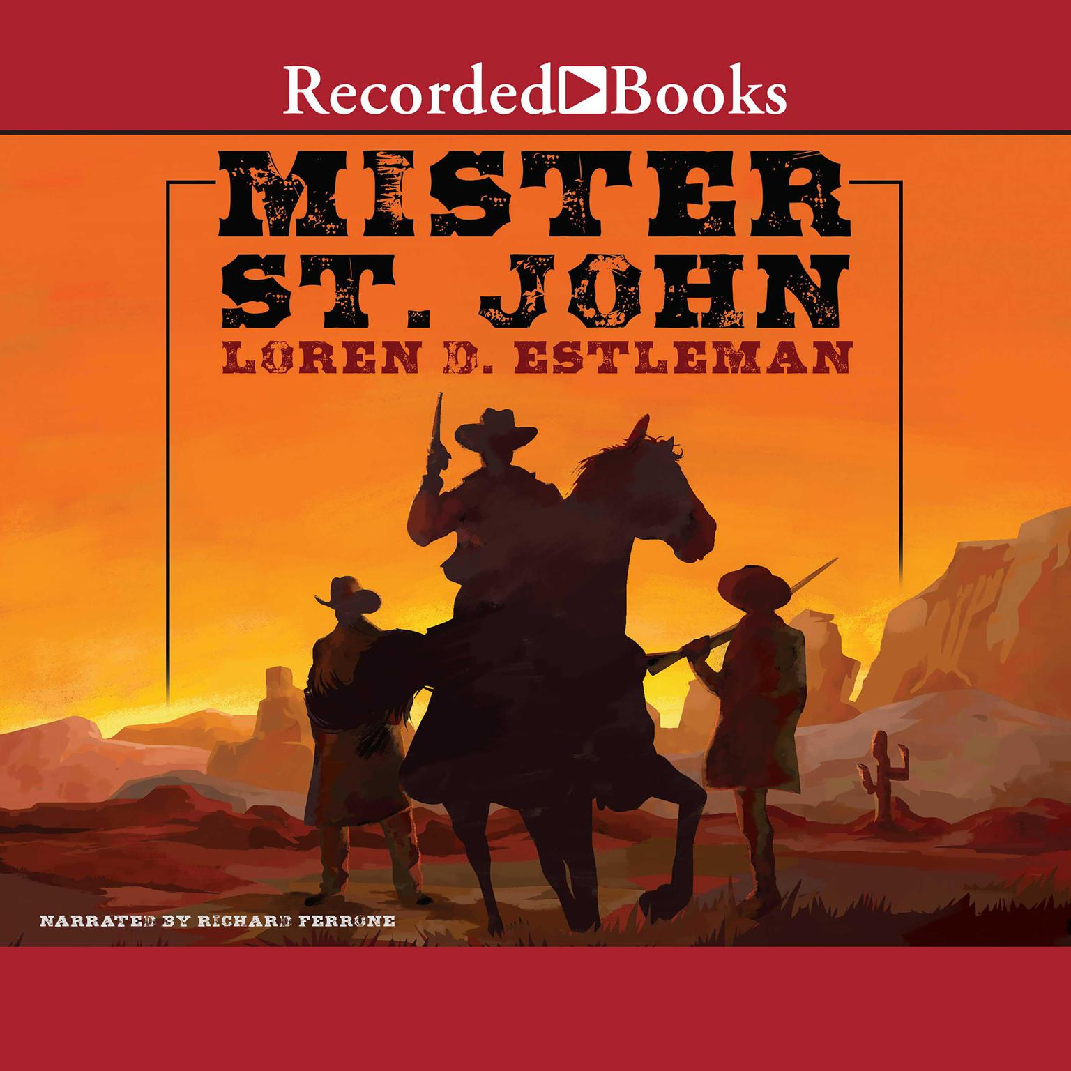 Printable Mister St. John Audiobook Cover Art