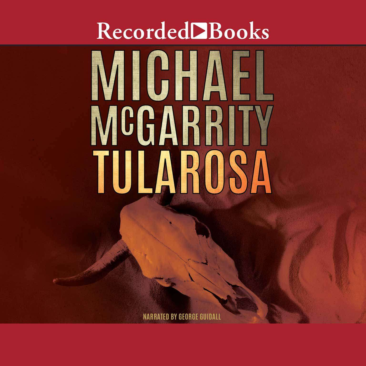 Printable Tularosa Audiobook Cover Art