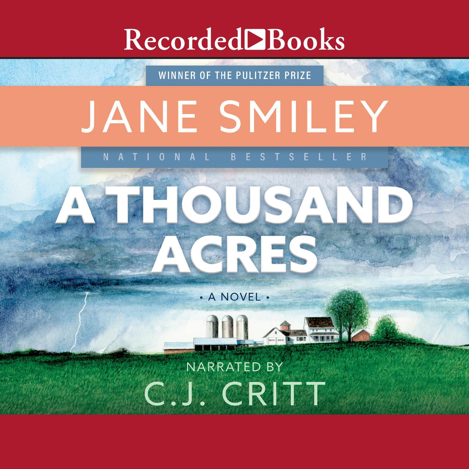 Printable A Thousand Acres Audiobook Cover Art