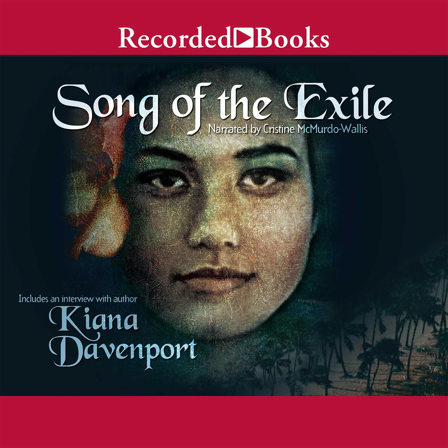 Printable Song of the Exile Audiobook Cover Art