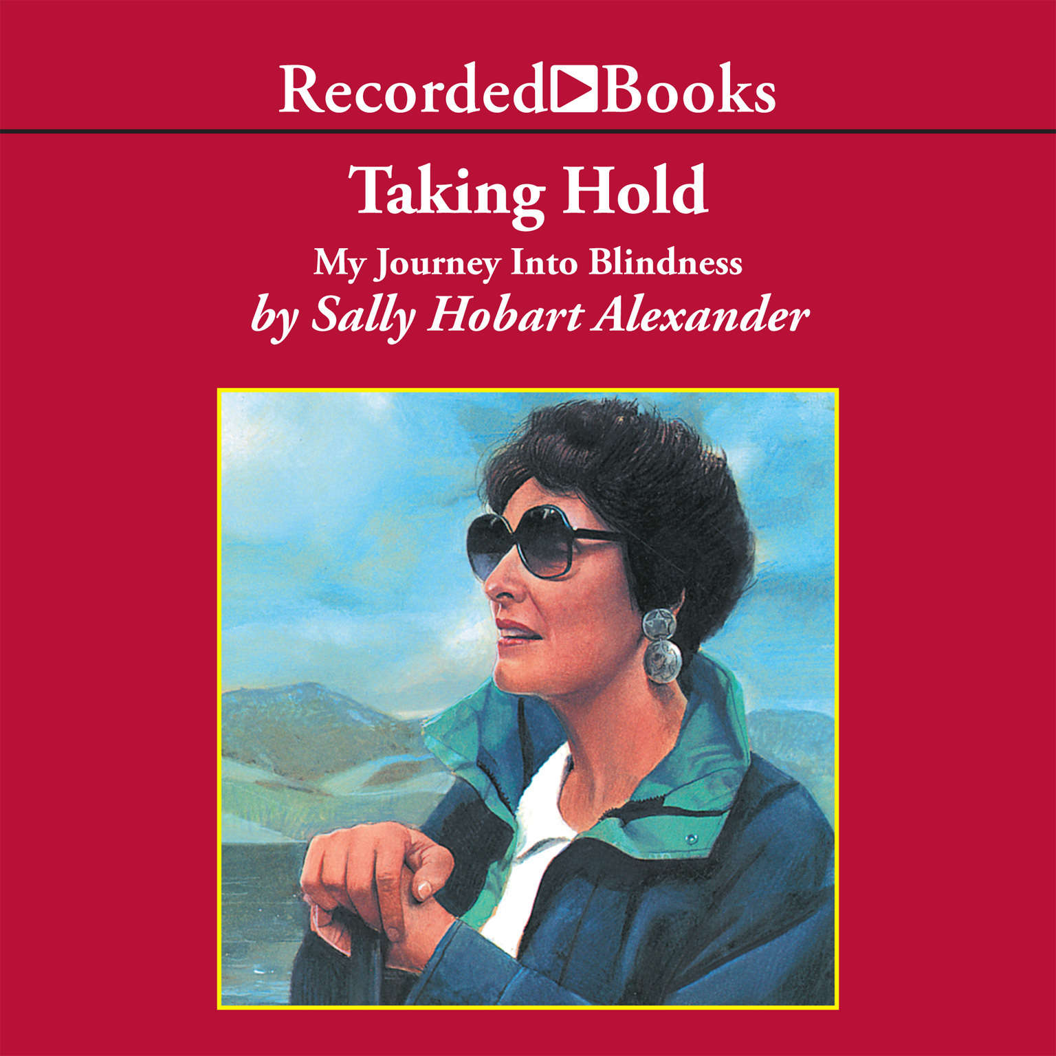 Printable Taking Hold: My Journey Into Blindness Audiobook Cover Art