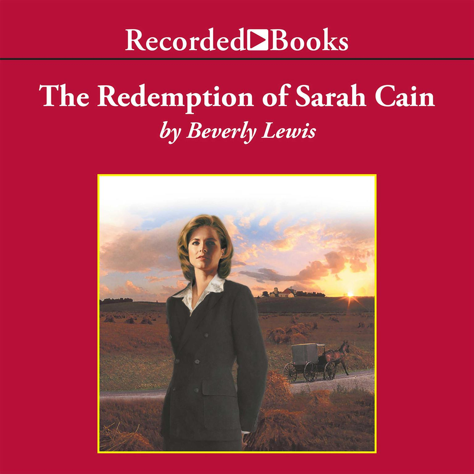 Printable The Redemption of Sarah Cain Audiobook Cover Art