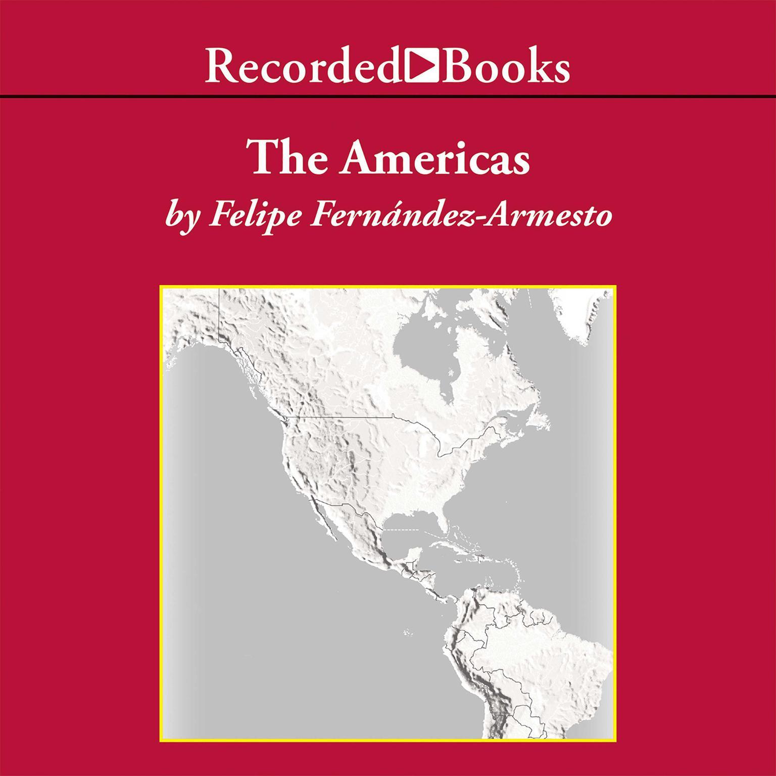 Printable The Americas: A Hemispheric History Audiobook Cover Art