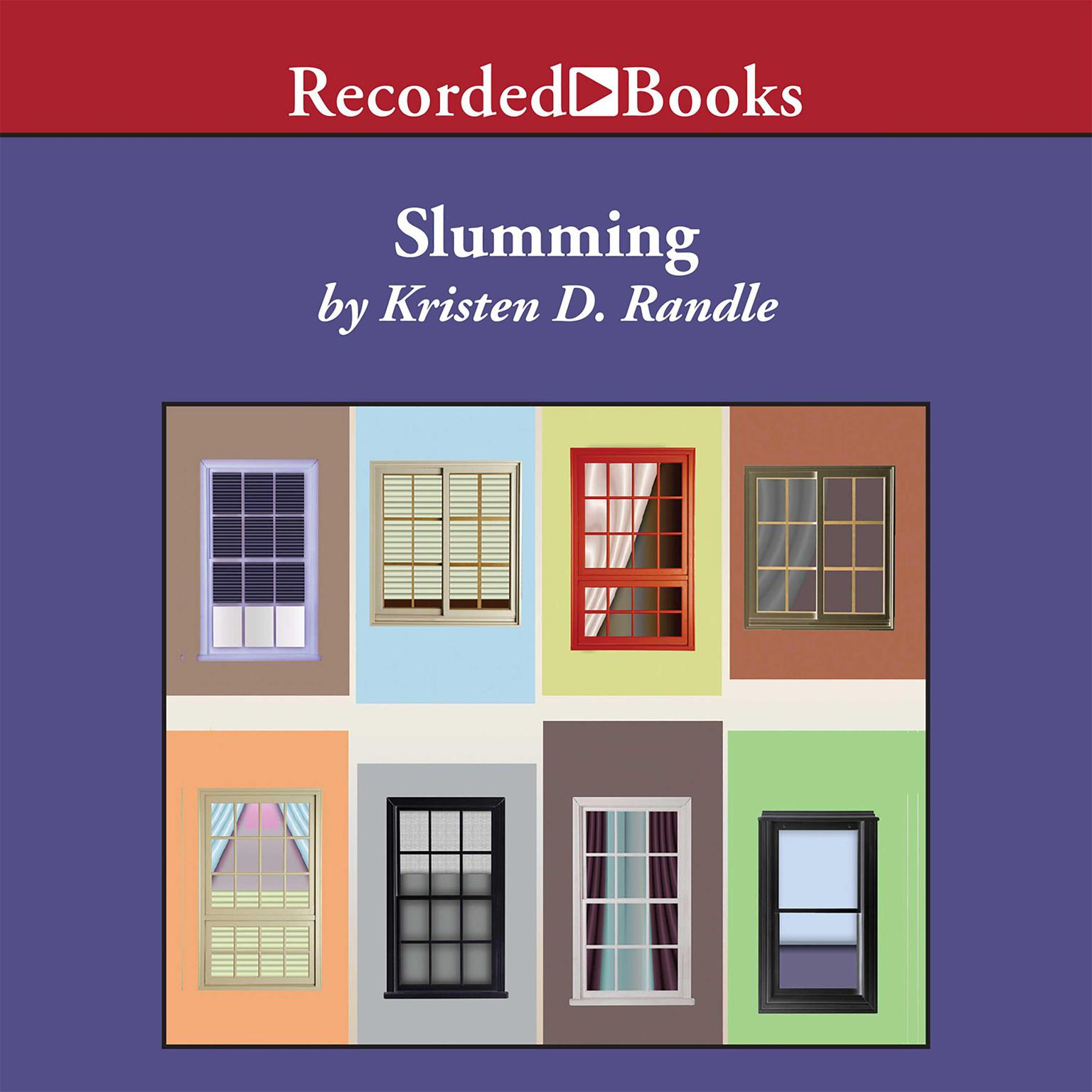 Printable Slumming Audiobook Cover Art