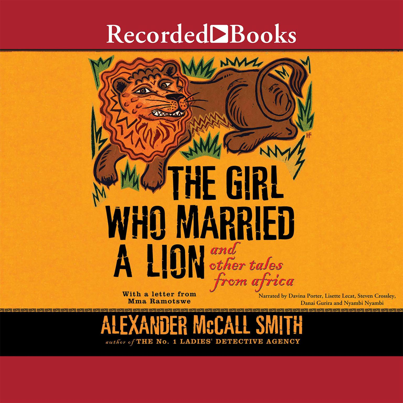 Printable The Girl Who Married a Lion: And Other Tales from Africa Audiobook Cover Art