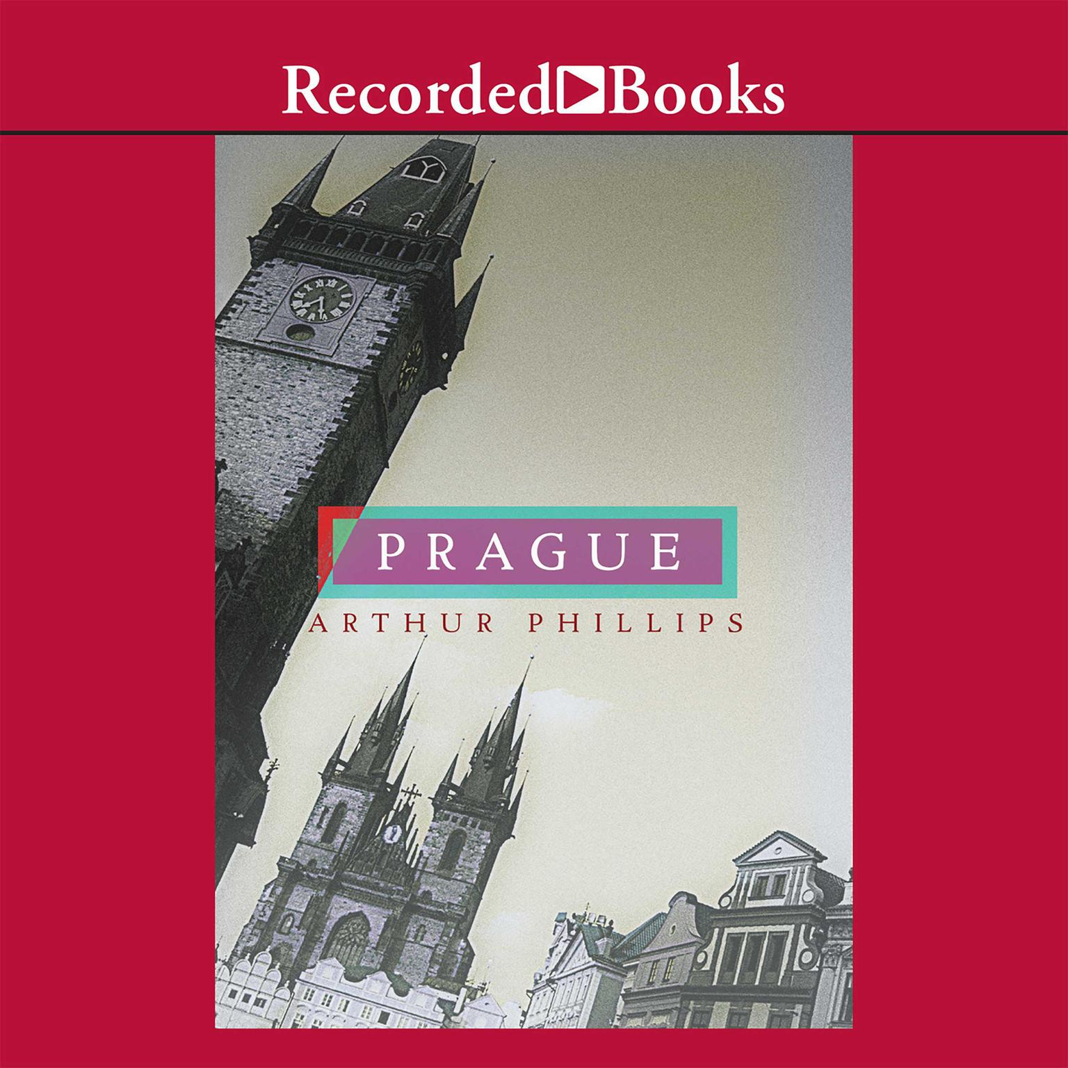 Printable Prague Audiobook Cover Art
