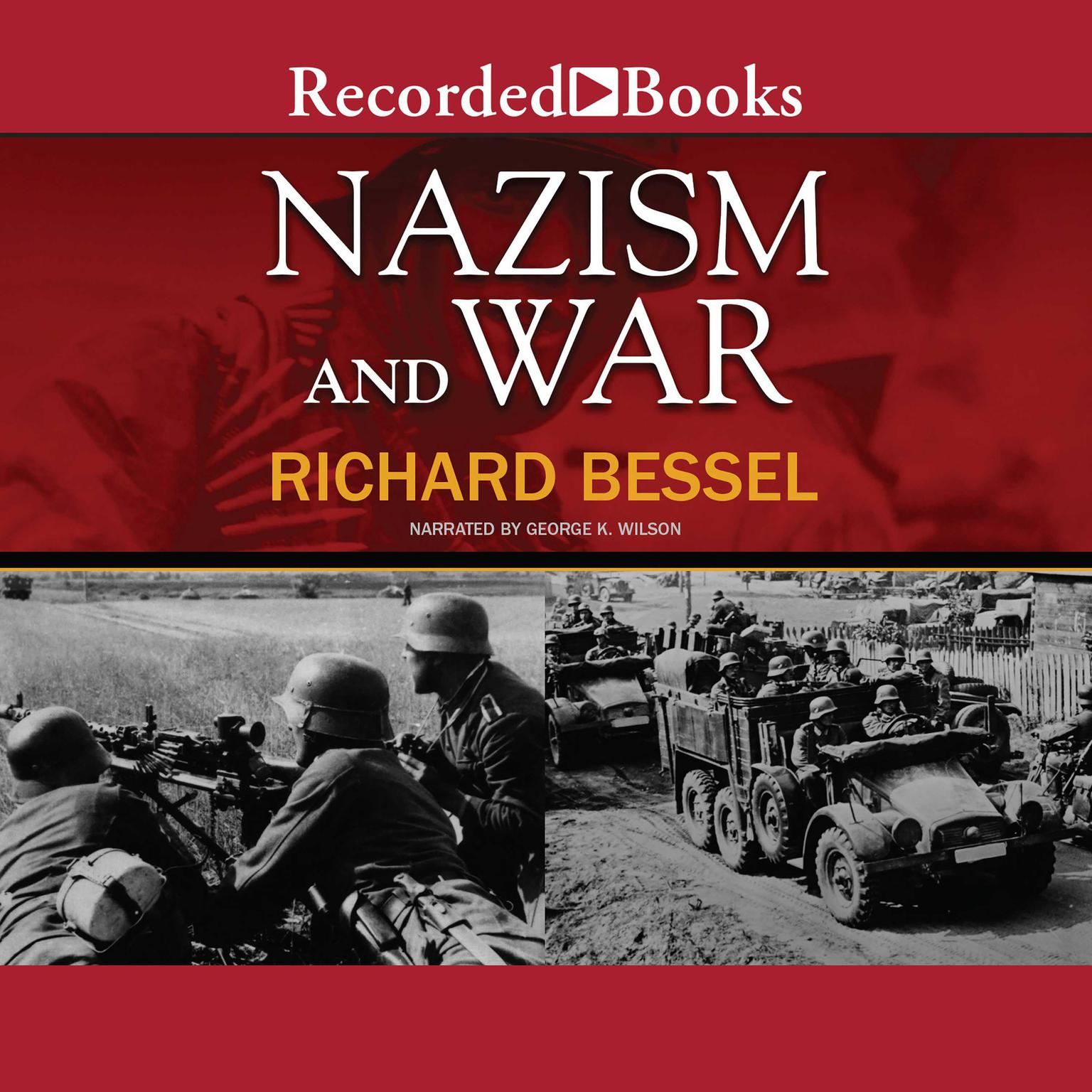 Printable Nazism and War Audiobook Cover Art