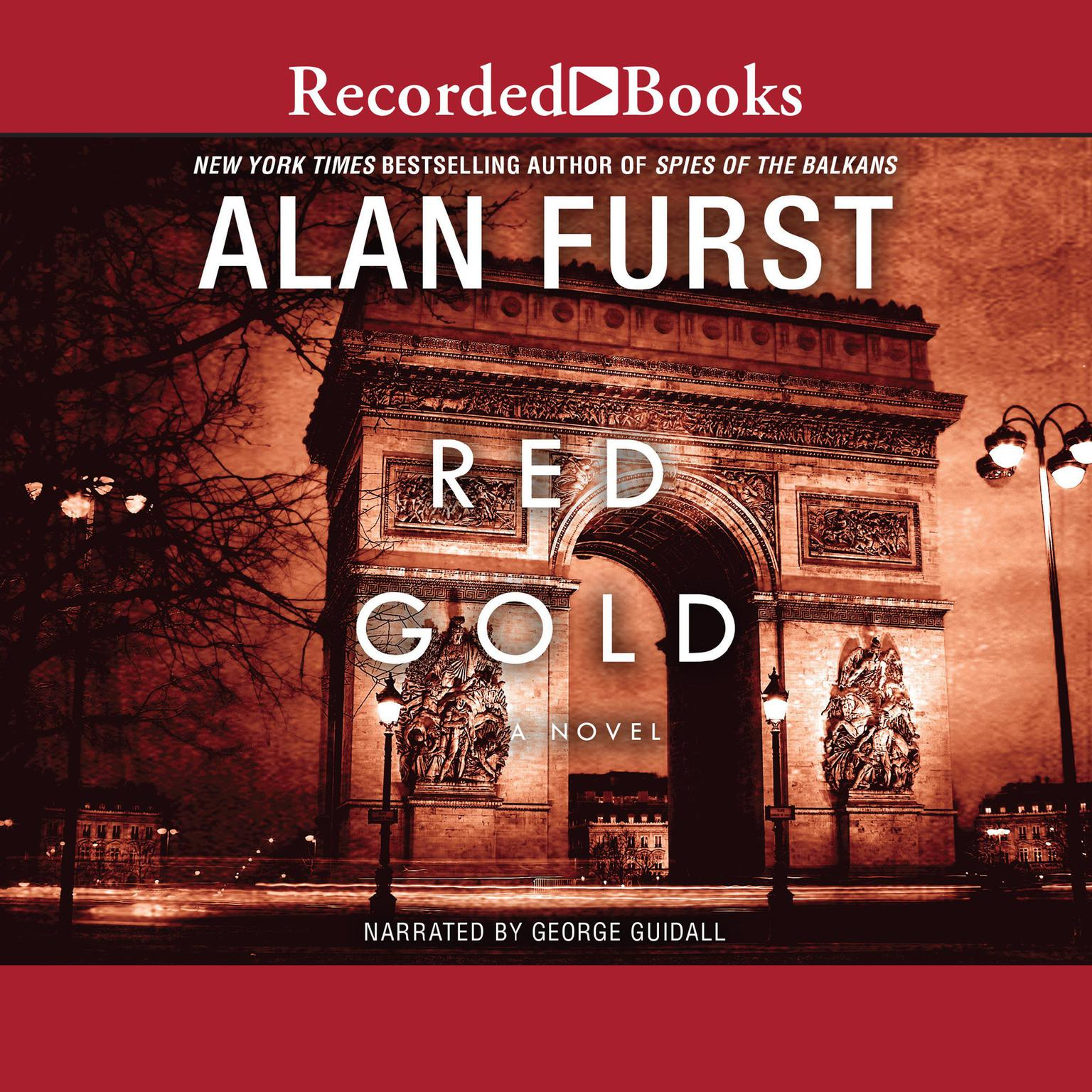 Printable Red Gold: A Novel Audiobook Cover Art