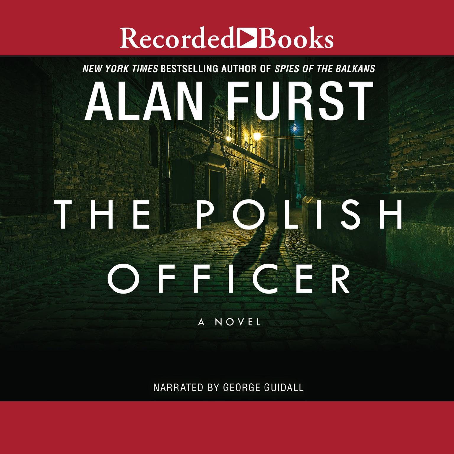 Printable The Polish Officer Audiobook Cover Art